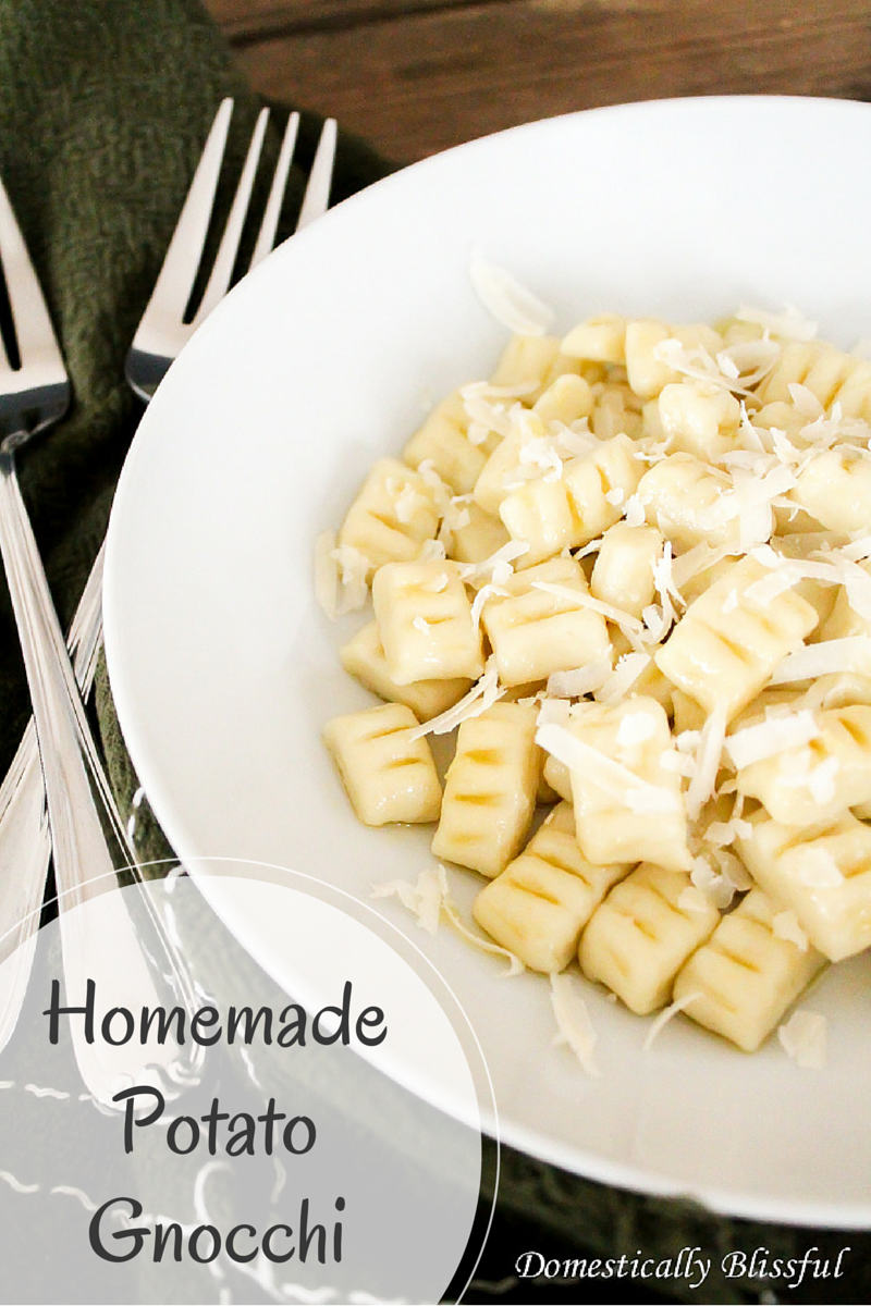 Homemade Potato Gnocchi