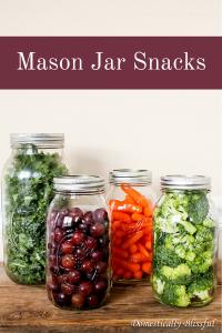 Mason Jar Snacks