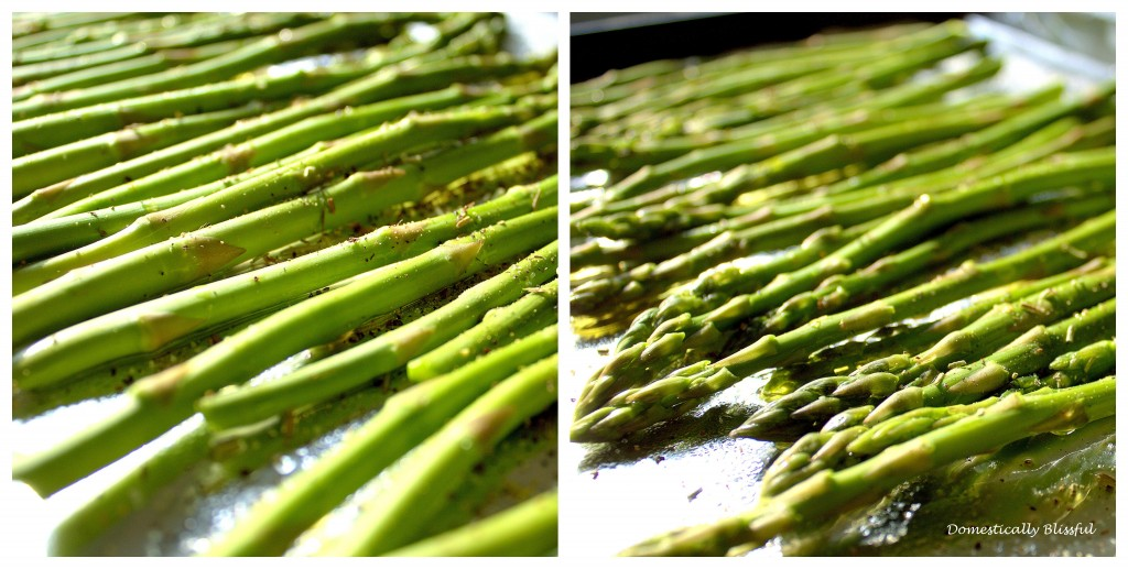Lemon & Herb Oven Roasted Asparagus