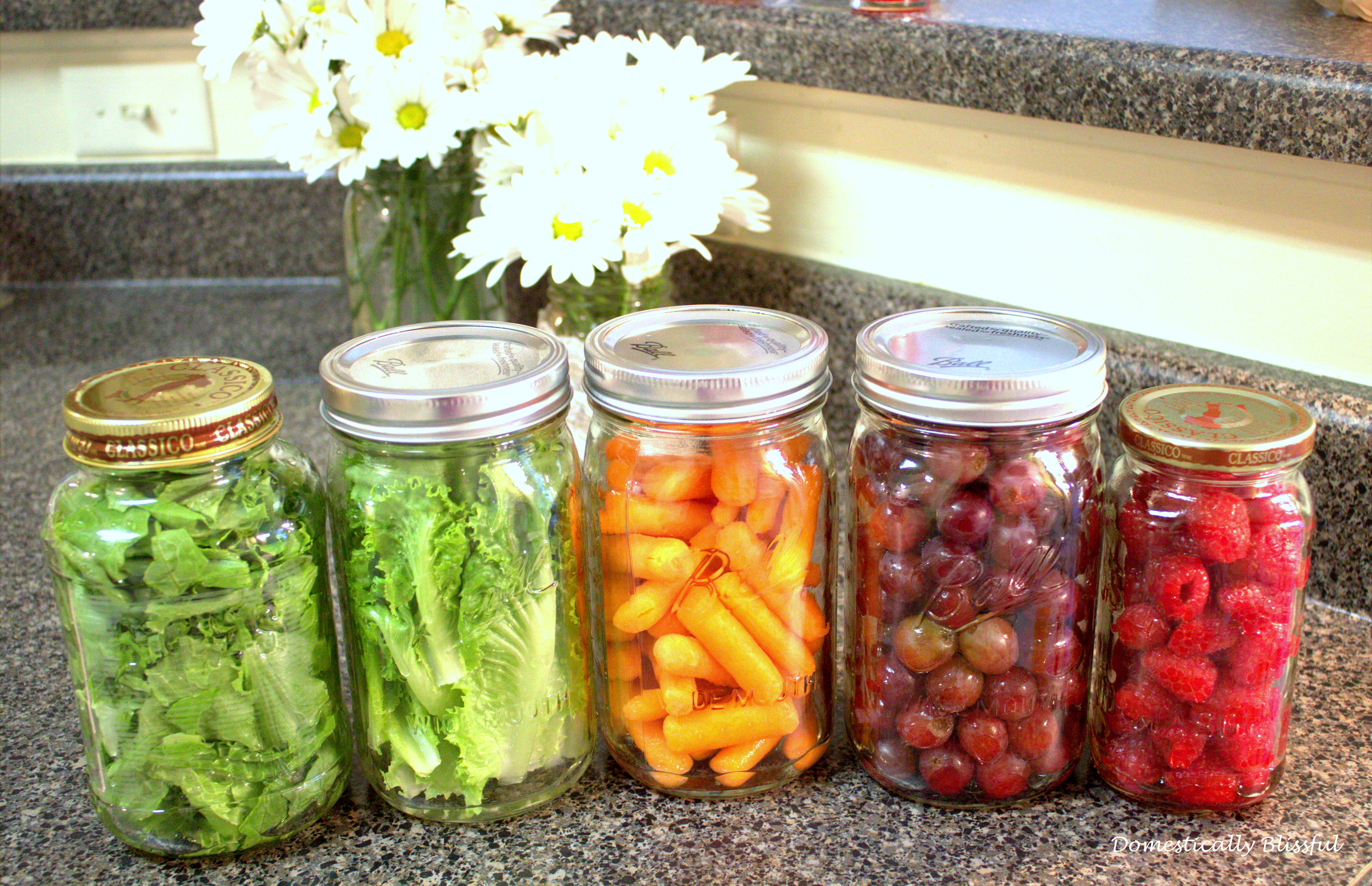 Mason Jar Snacks