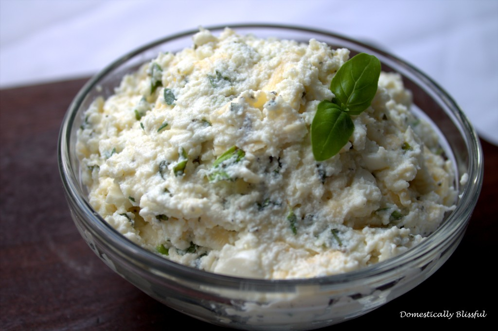 Herbed Ricotta Cheese