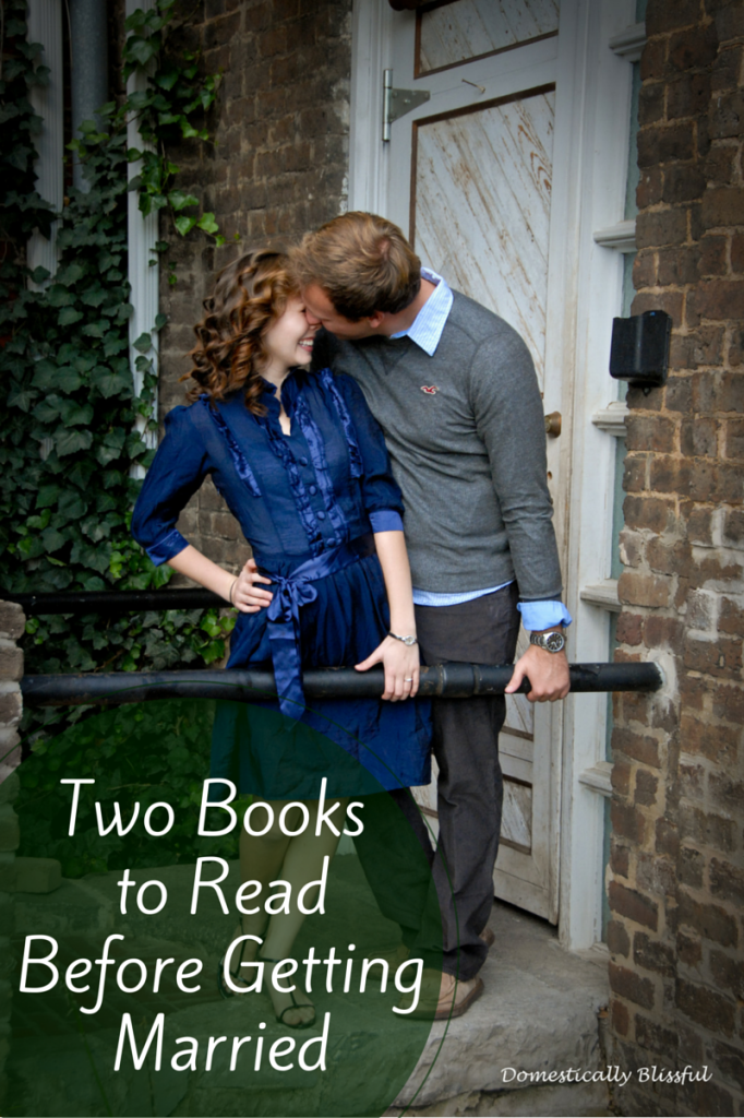 Two books to read to prepare you for marriage.