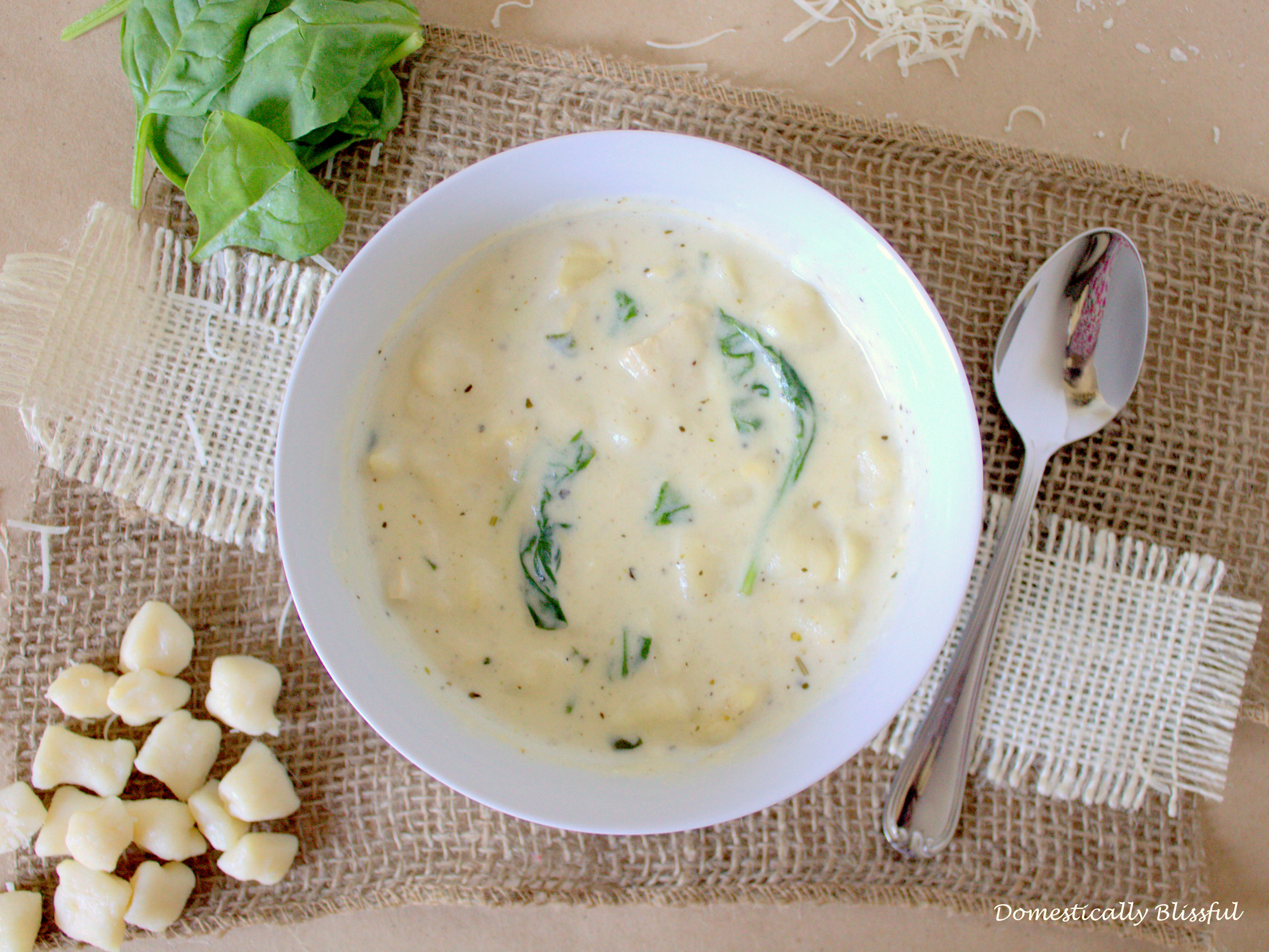 Creamy Gnocchi & Chicken Soup