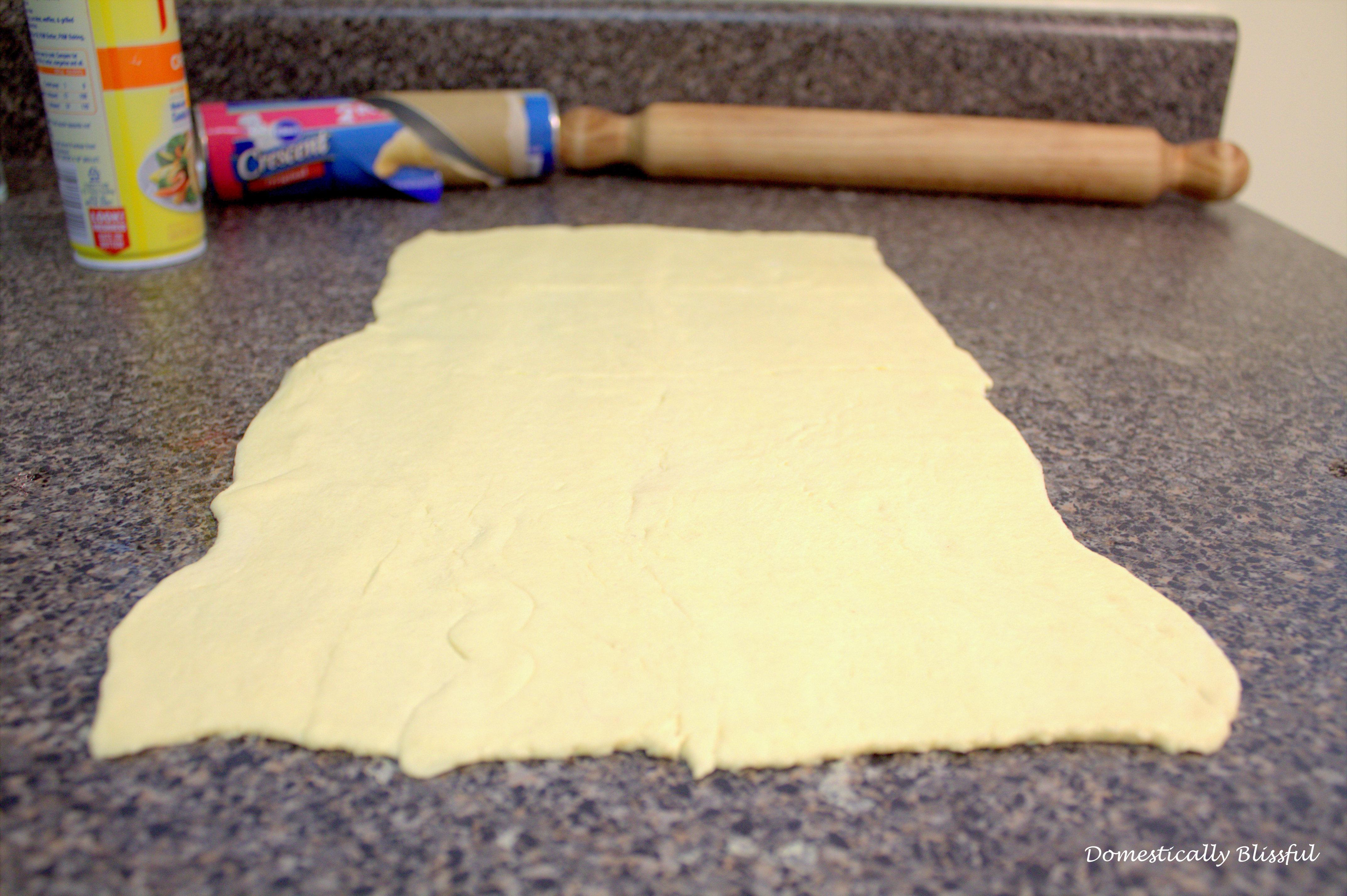 Pizza Pinwheels crescent roll dough