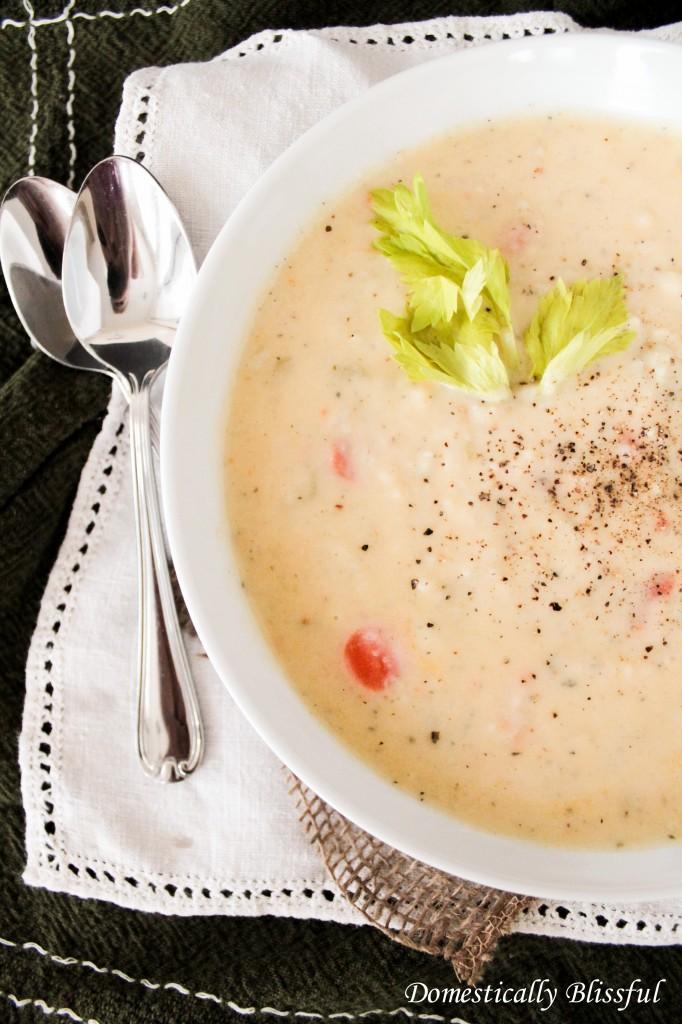Havarti Potato Soup