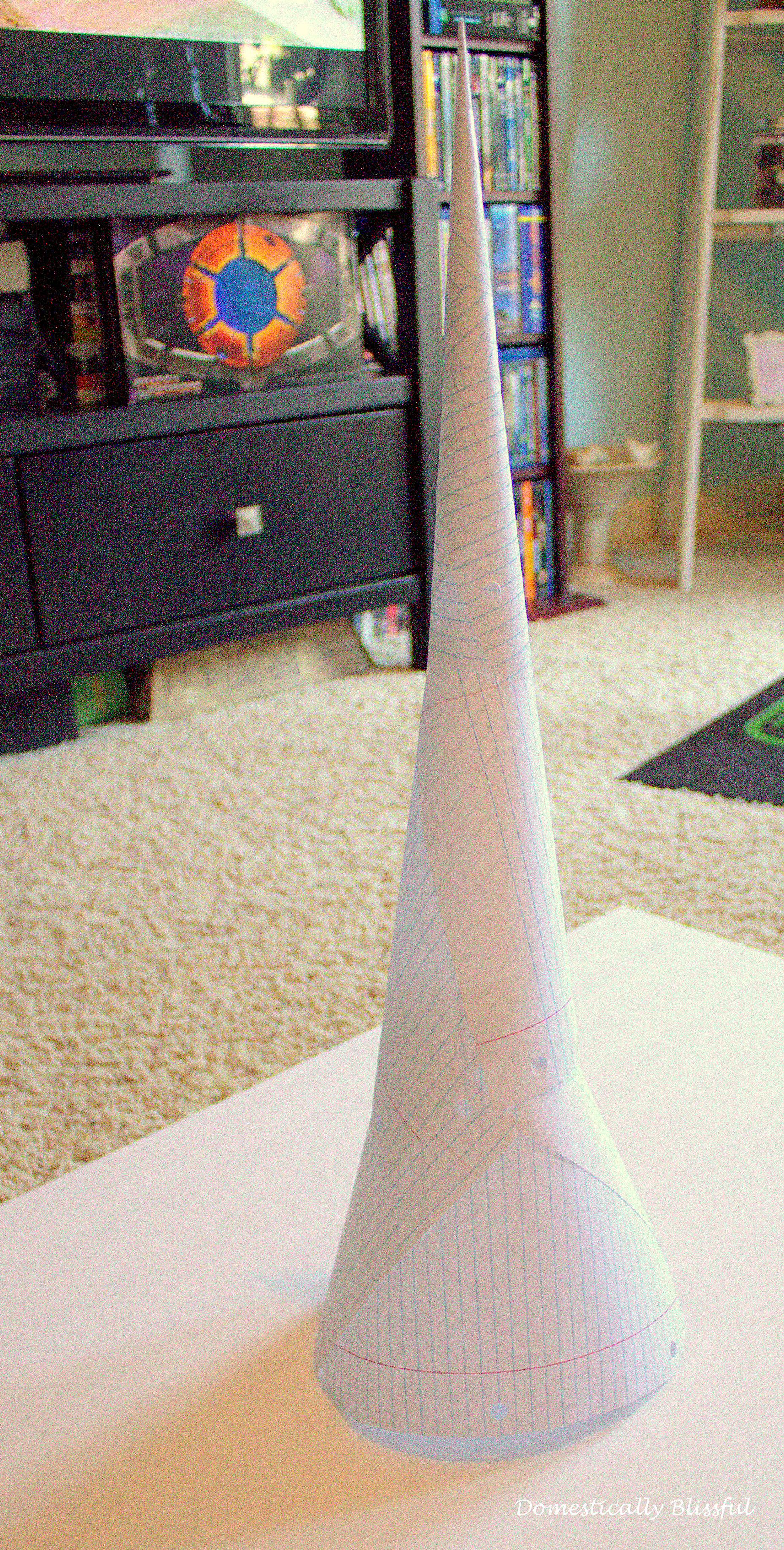 Paper Christmas Tree paper cone