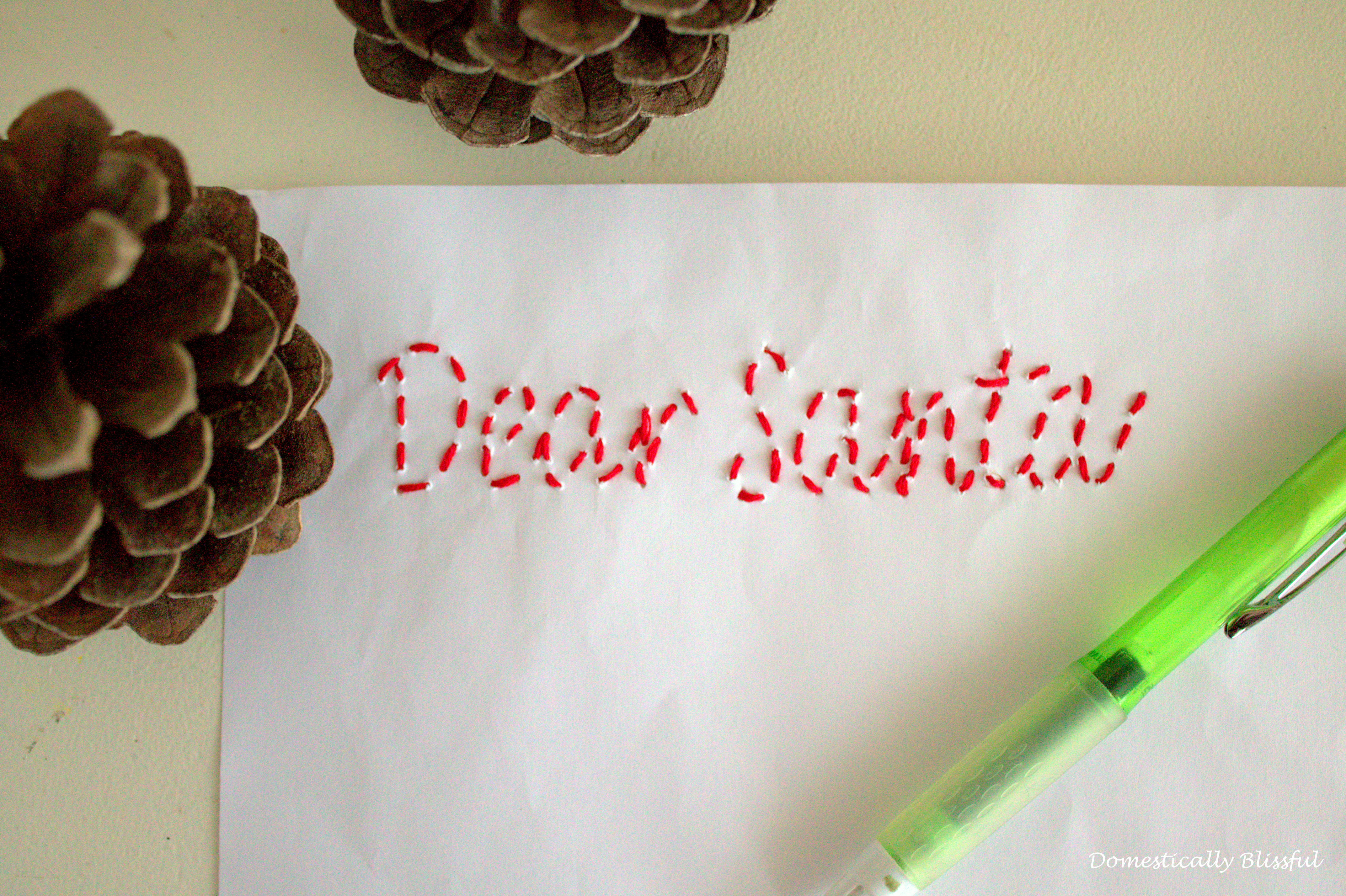 Christmas Letter to Santa Clause