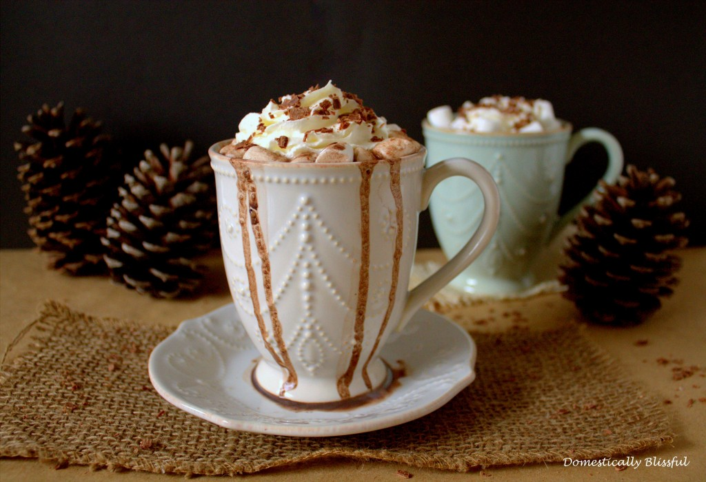 French Vanilla Hot Chocolate