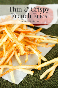 Thin & Crispy French Fries
