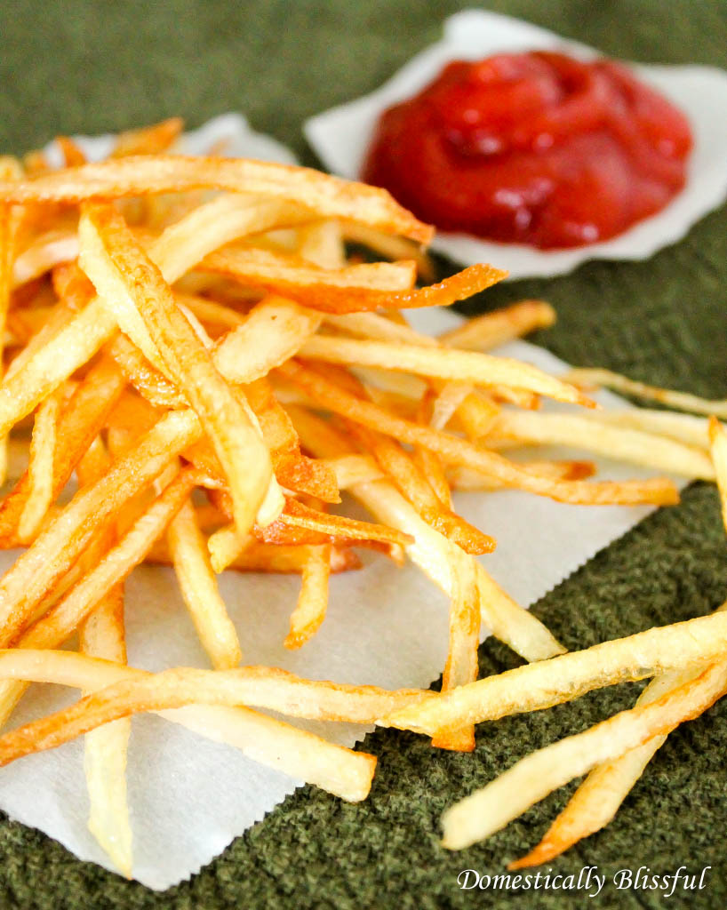 Thin and Crispy Fries