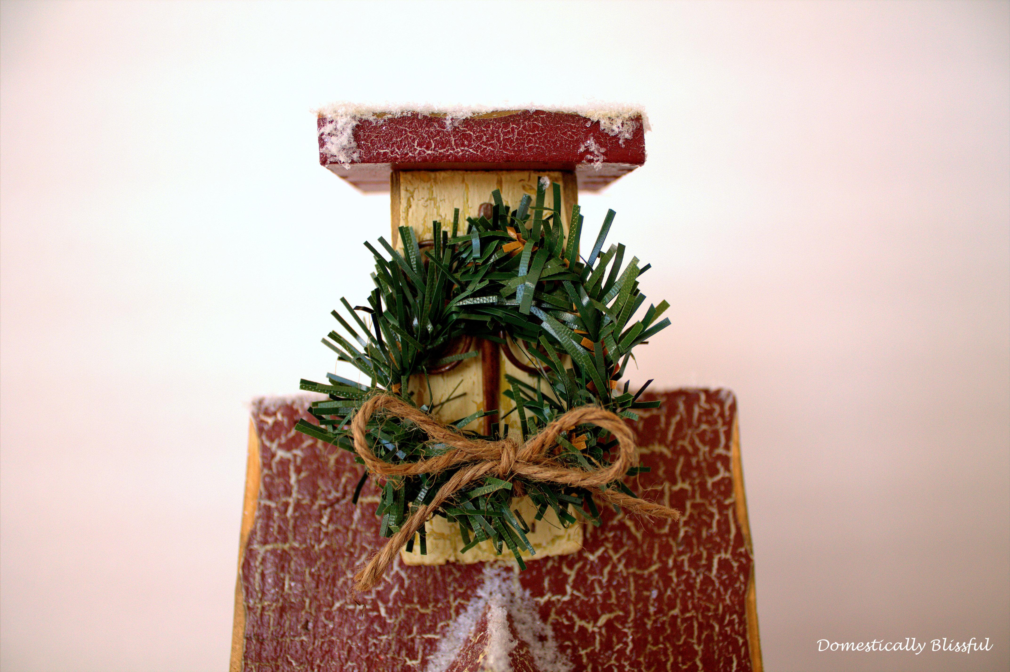 Birdhouse Mini Wreath