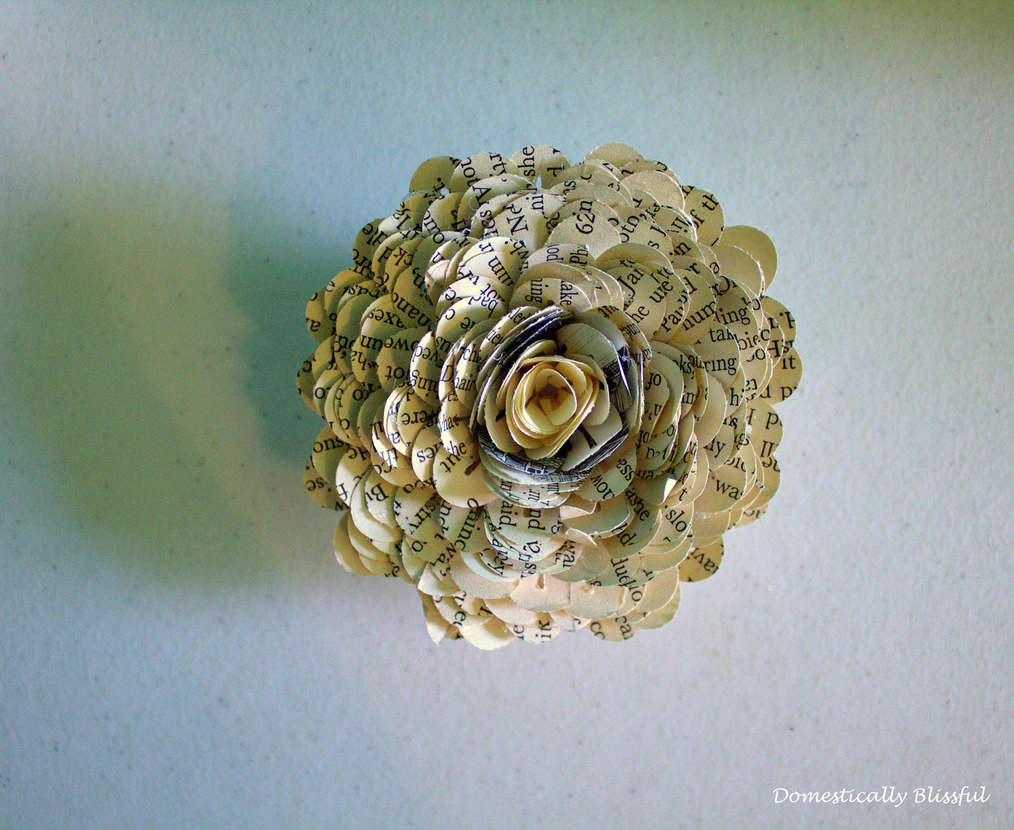 Carnation Petals Paper Flower