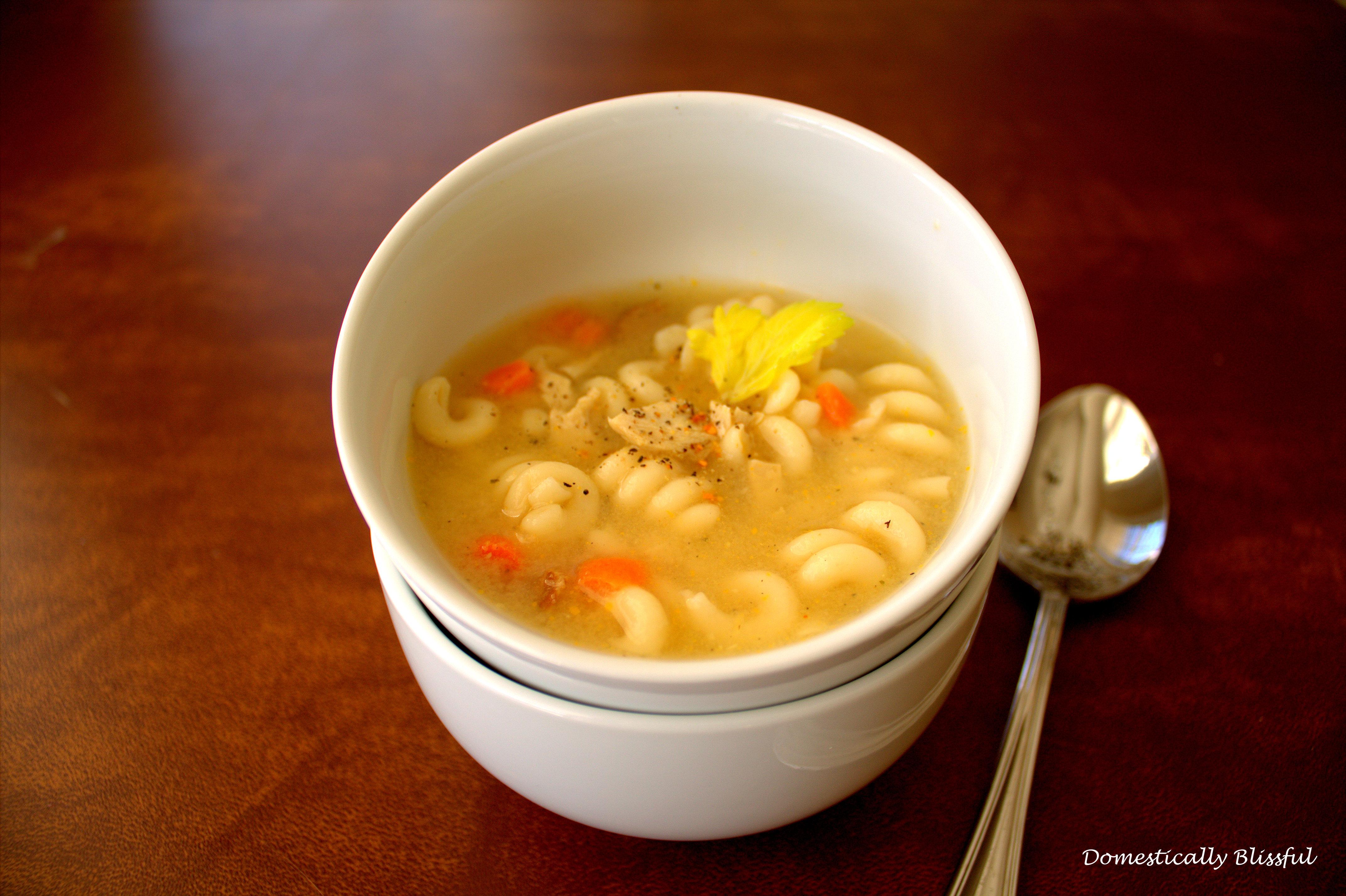 Chicken Noodle Soup for Vegetarians