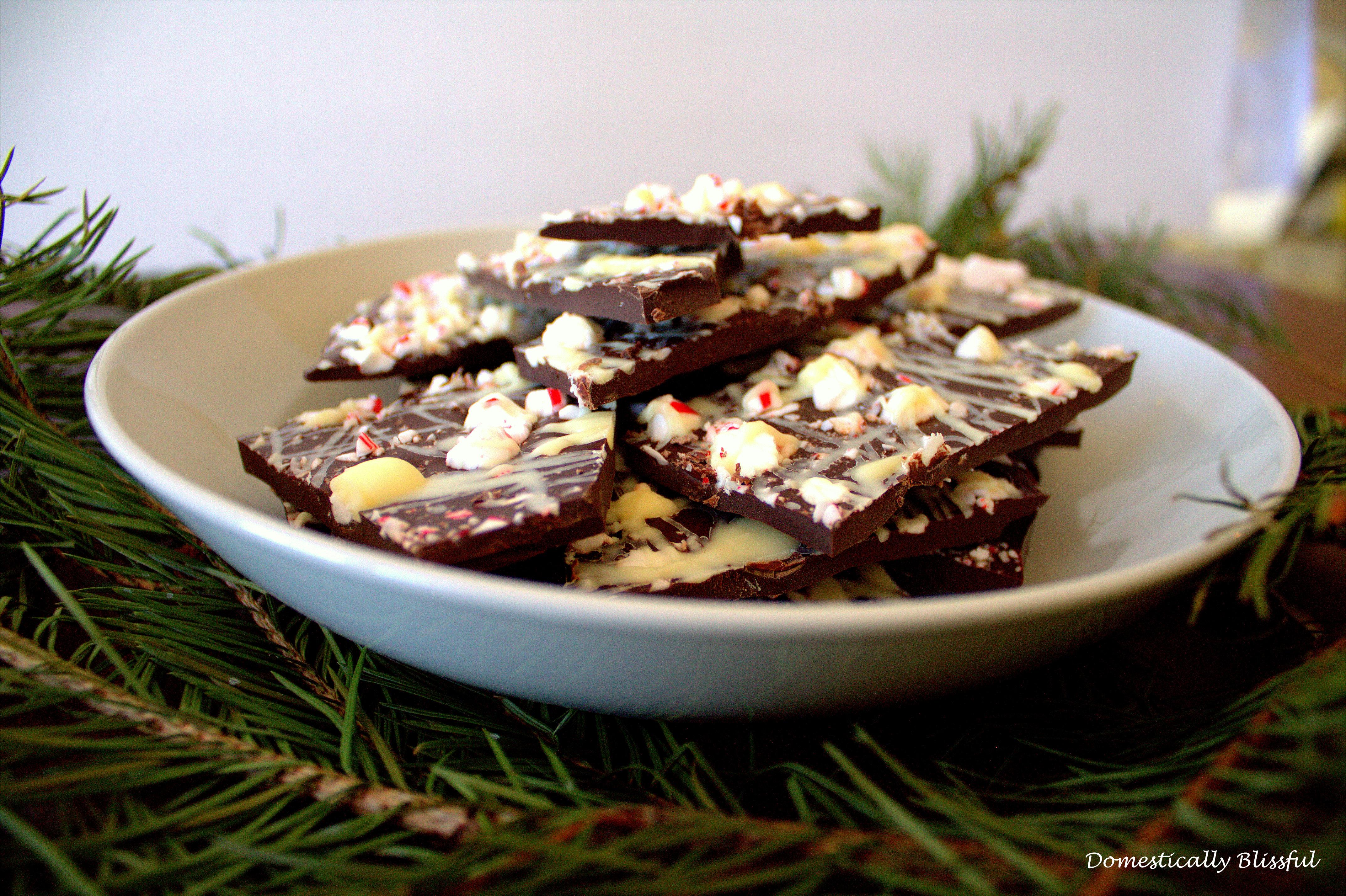 Christmas Double Peppermint Bark