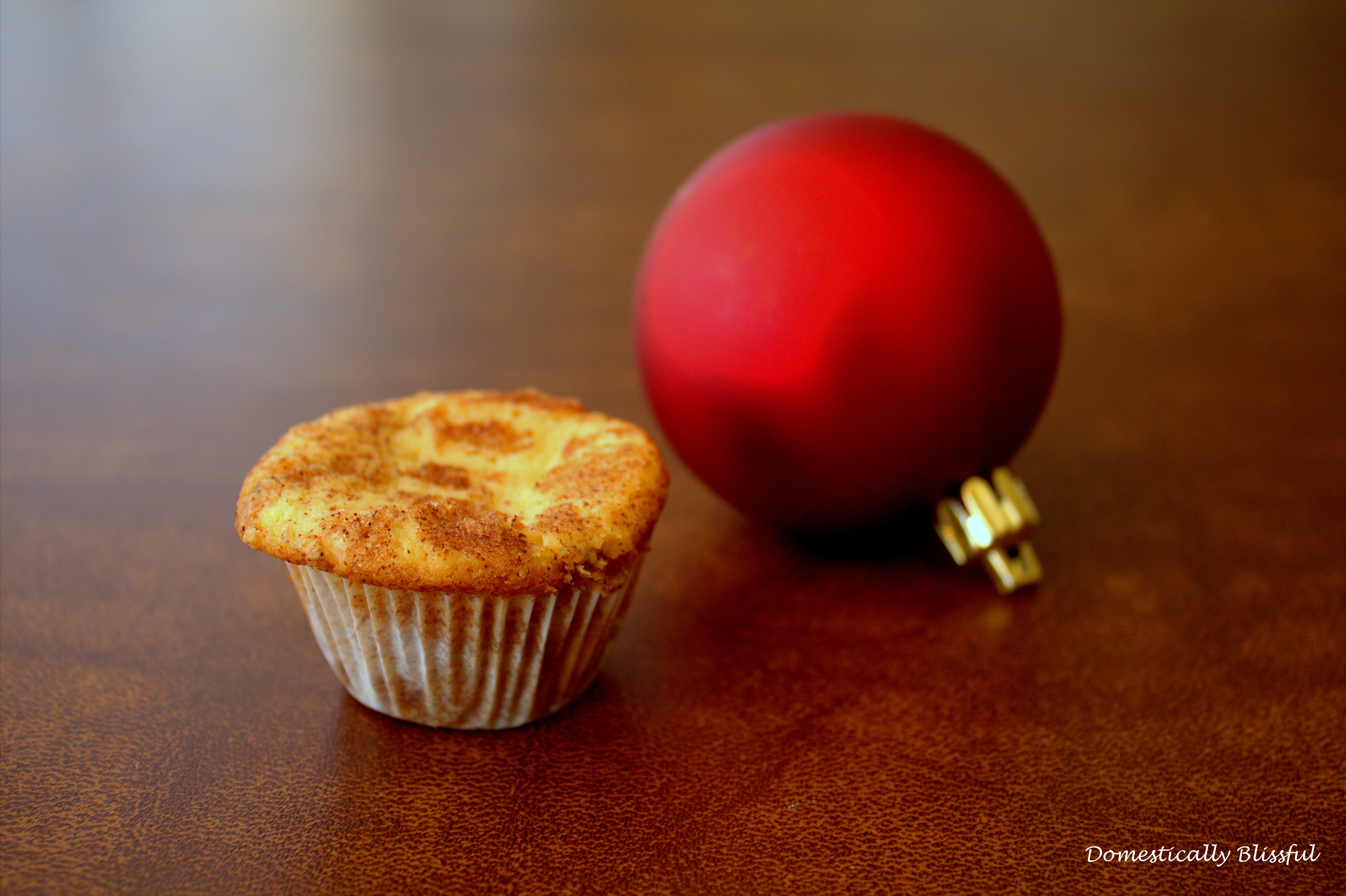 Christmas with Snickerdoodle Mini Muffins