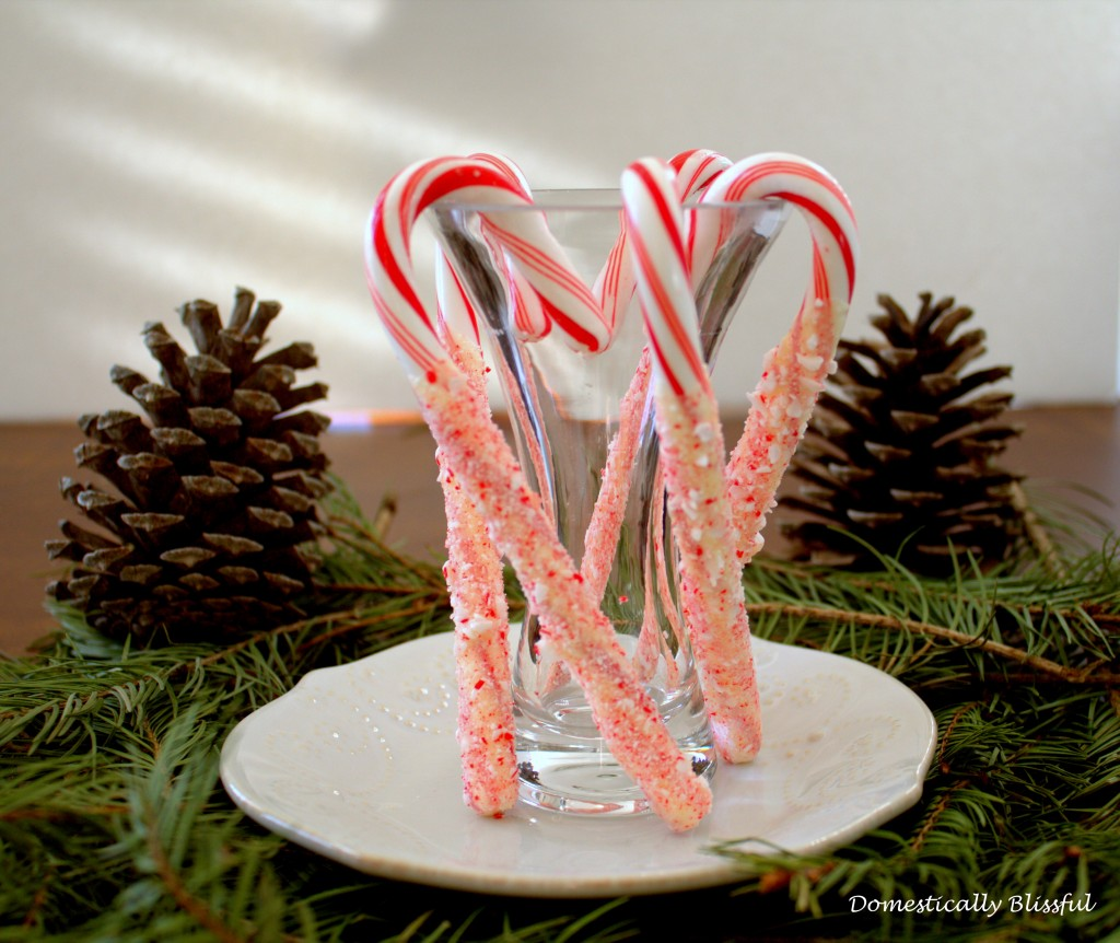 Double Peppermint Candy Canes