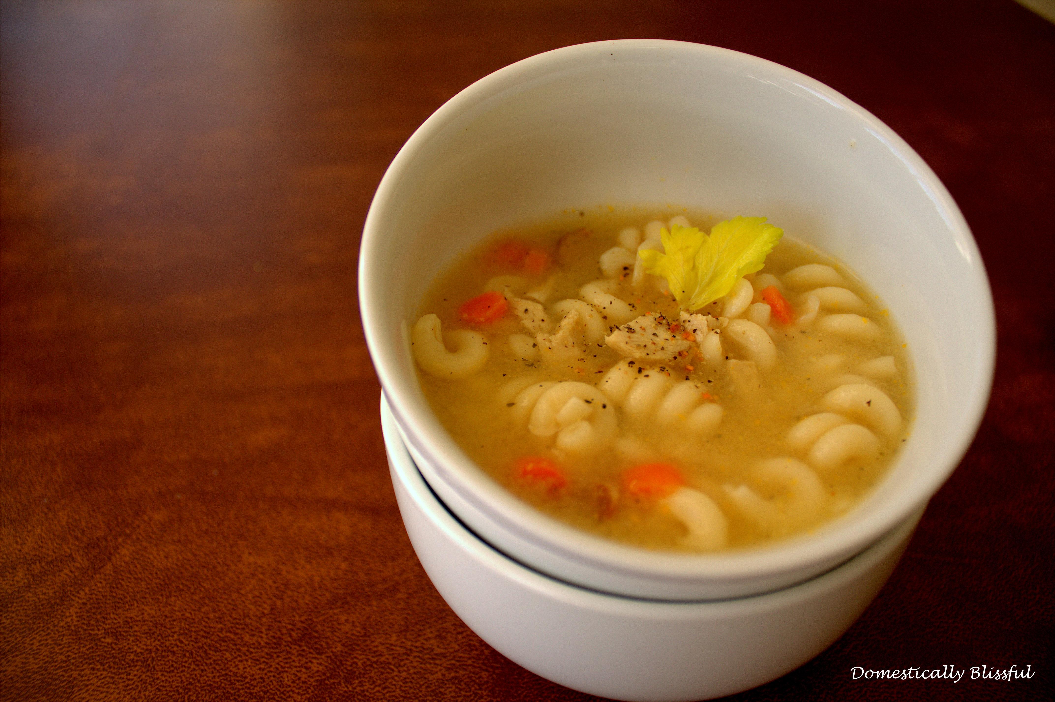 Wonderful Vegetarian Chicken Noodle Soup