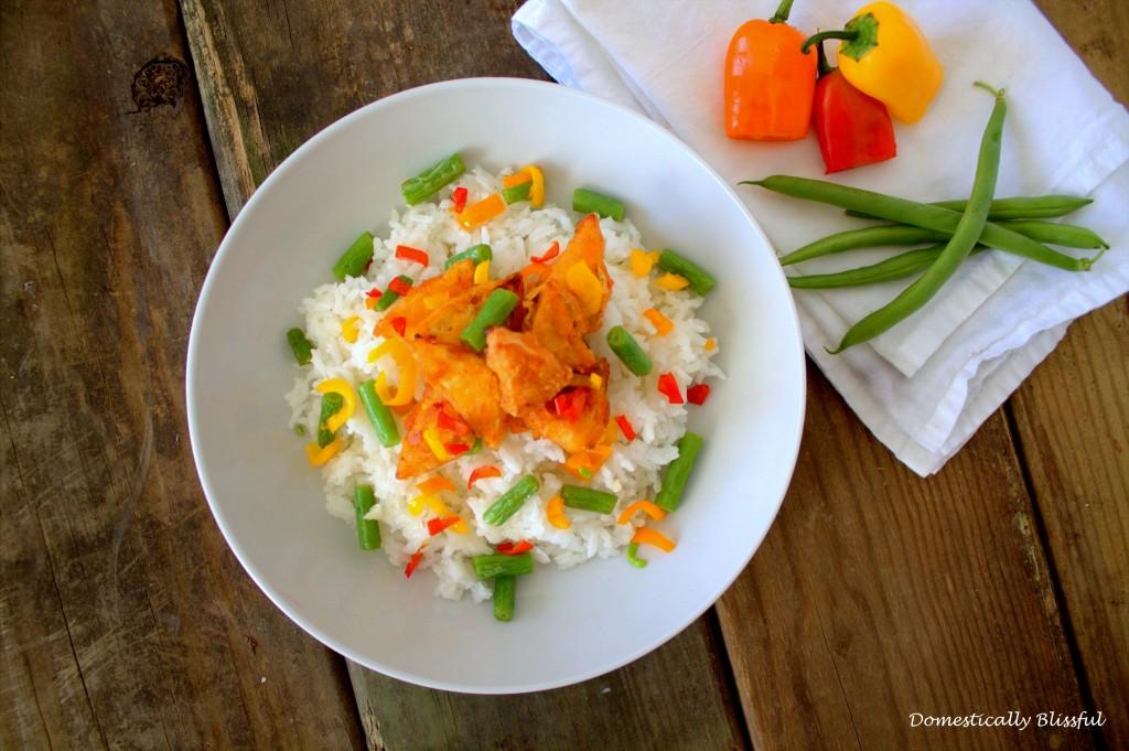 Crispy Asian Tofu