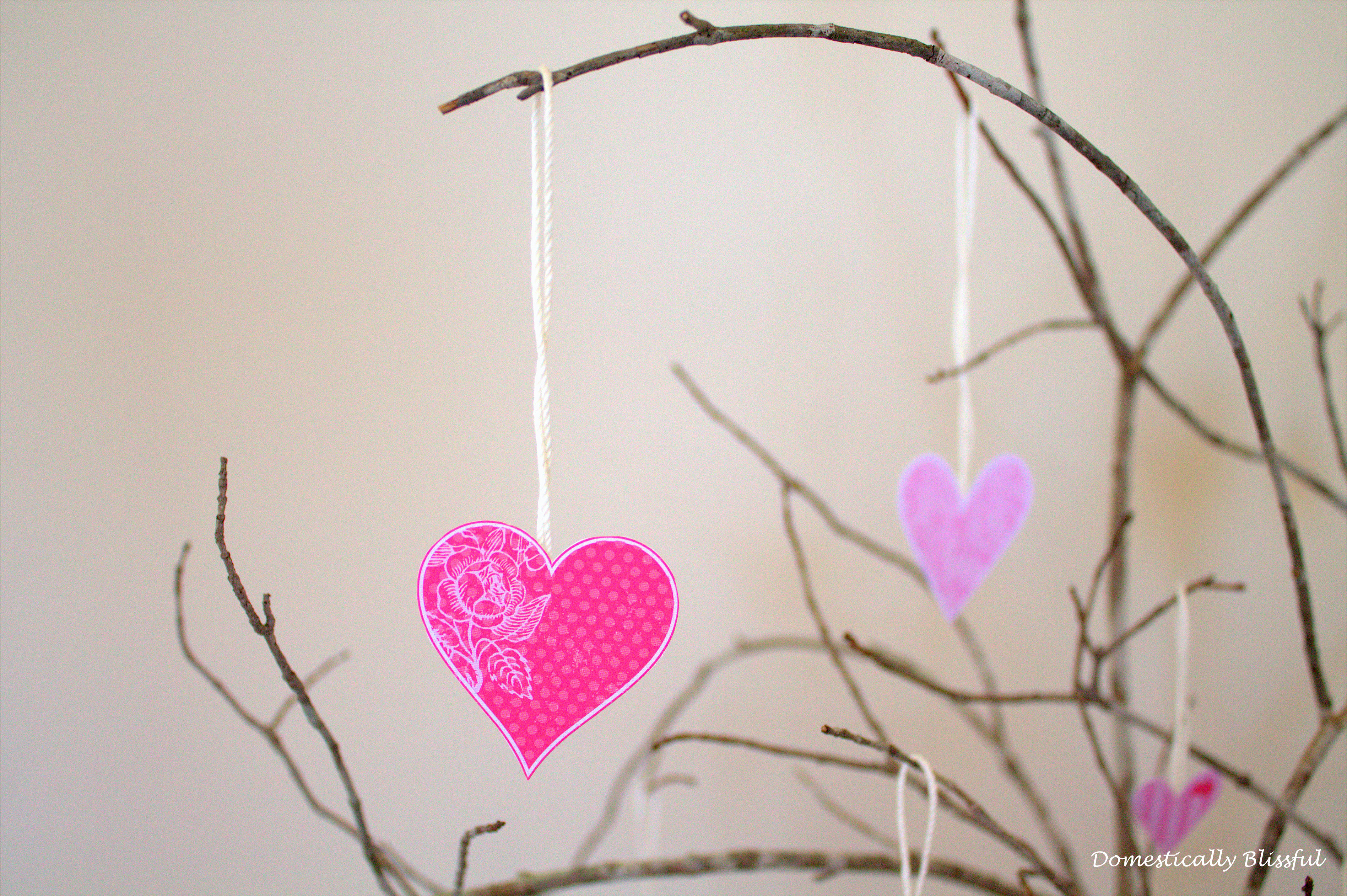 Valentine's Heart Decoration
