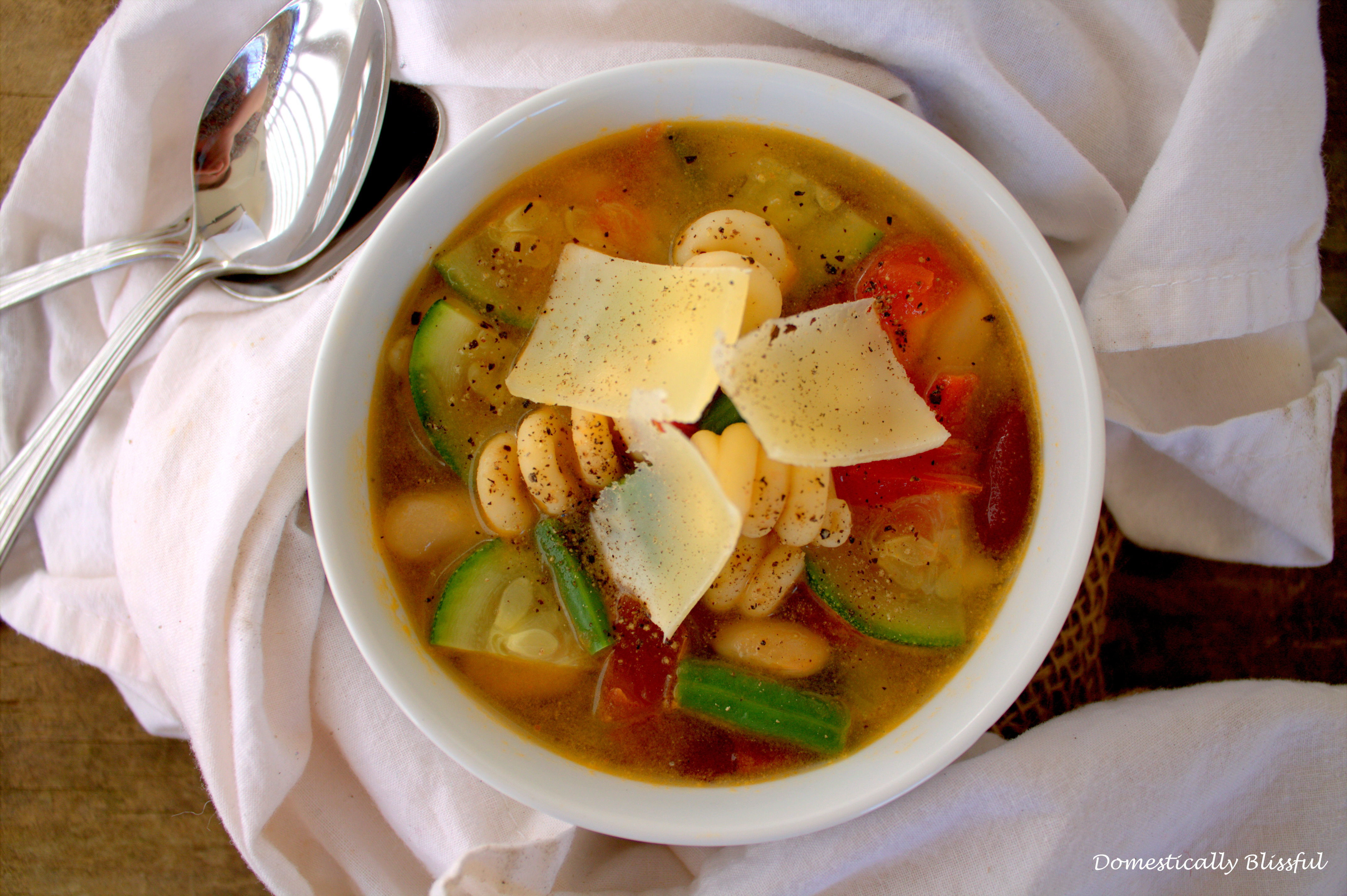 Fresh Minestrone Soup