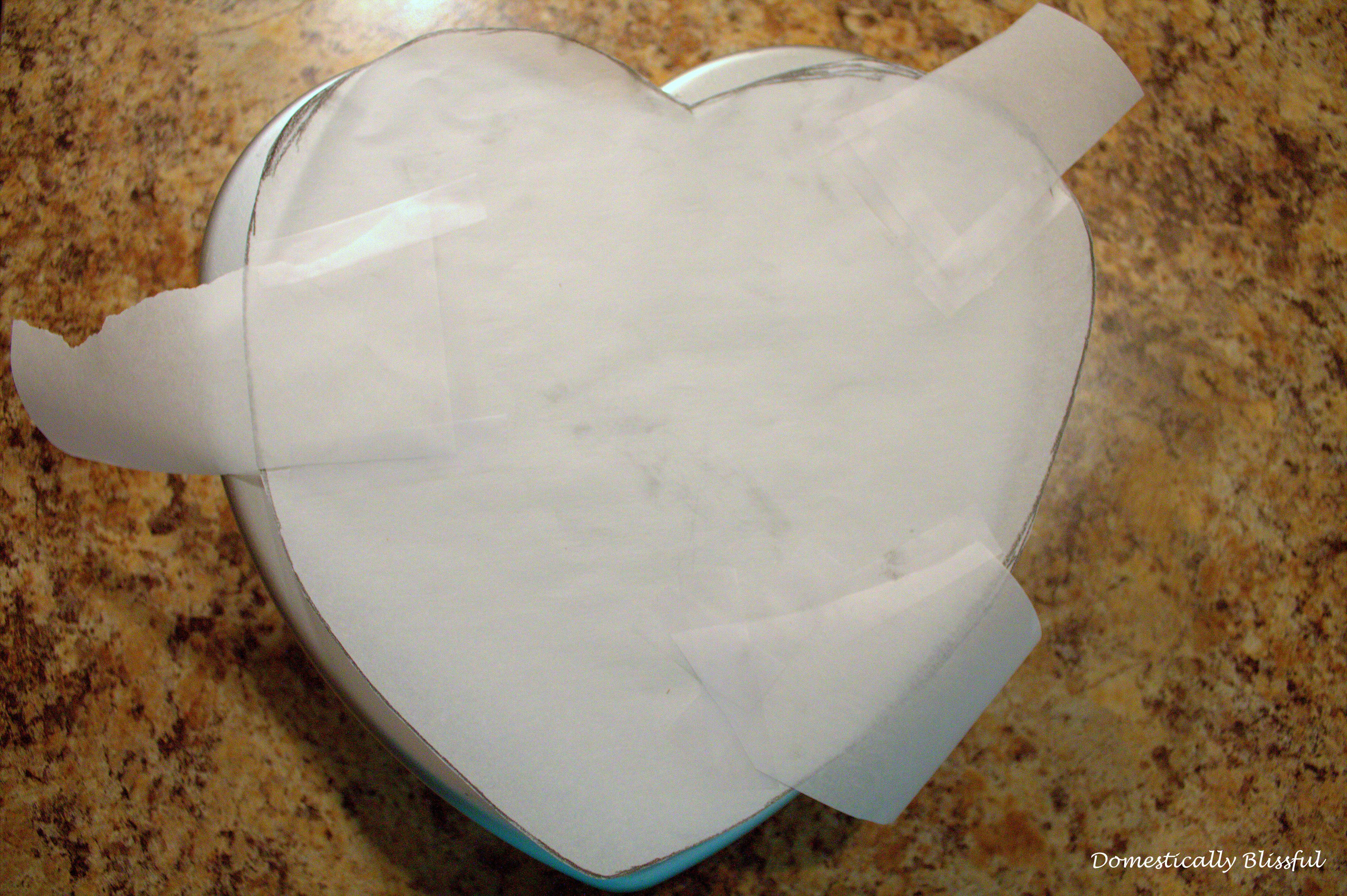 Parchment Paper Heart