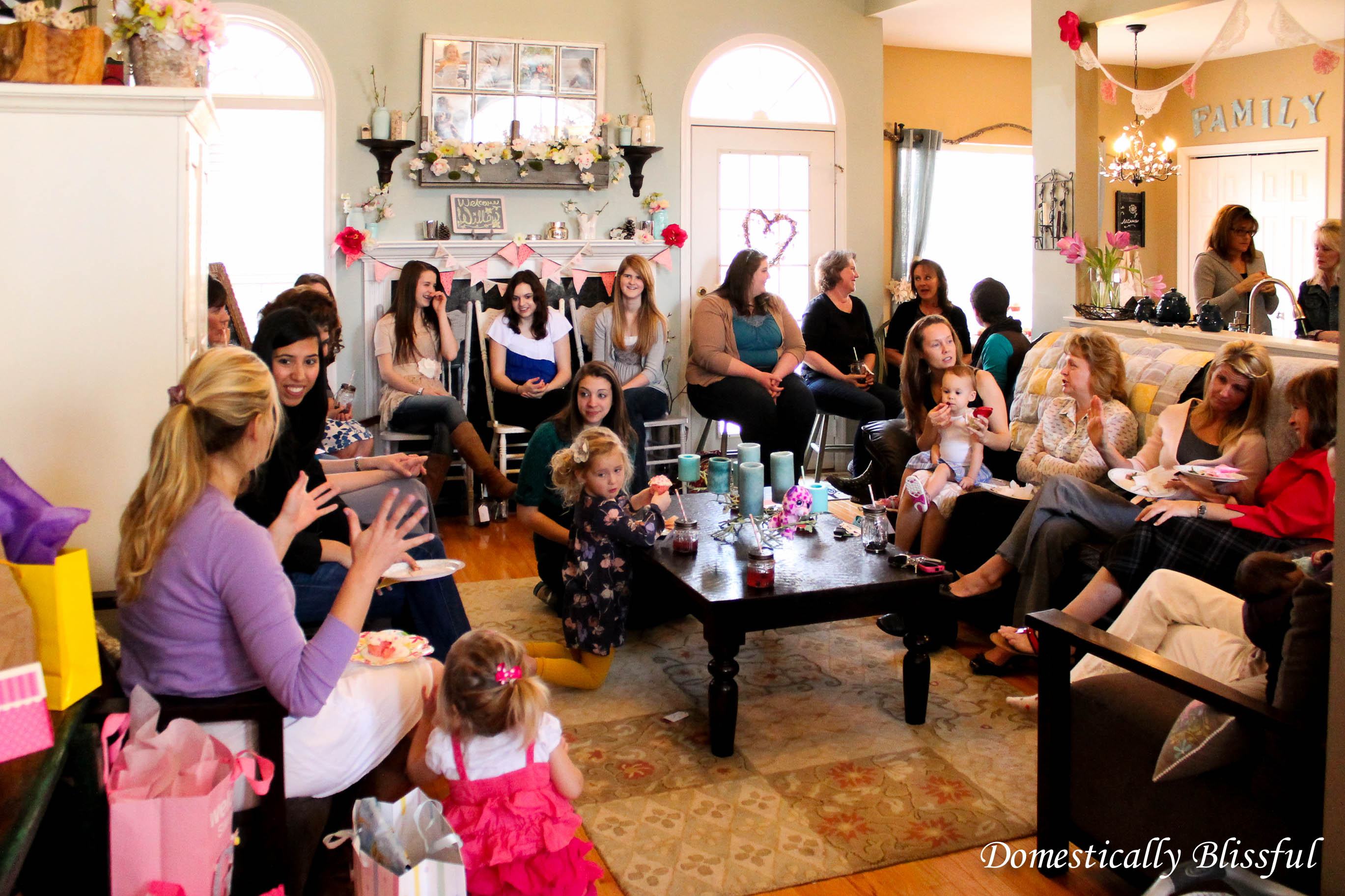 Princess Under a Willow Tree Baby Shower