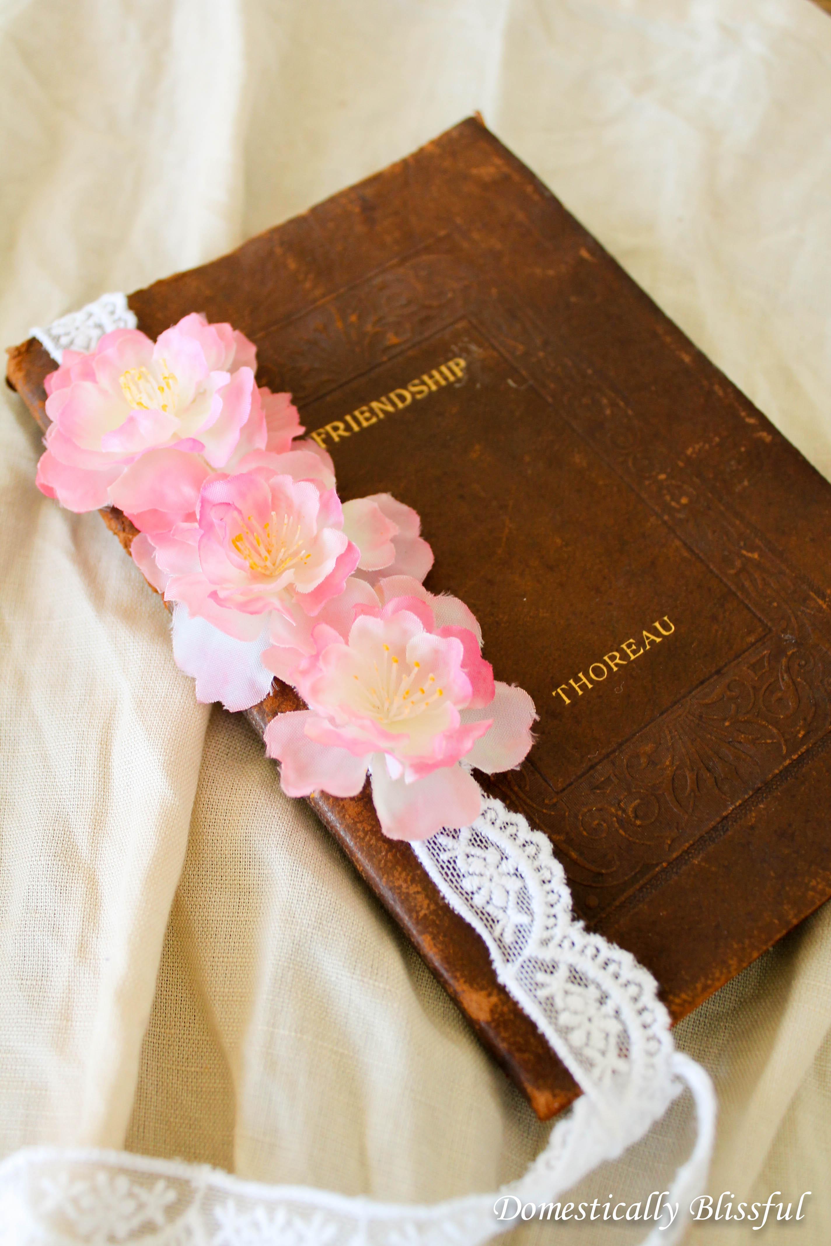 Cherry Blossom Bookmark