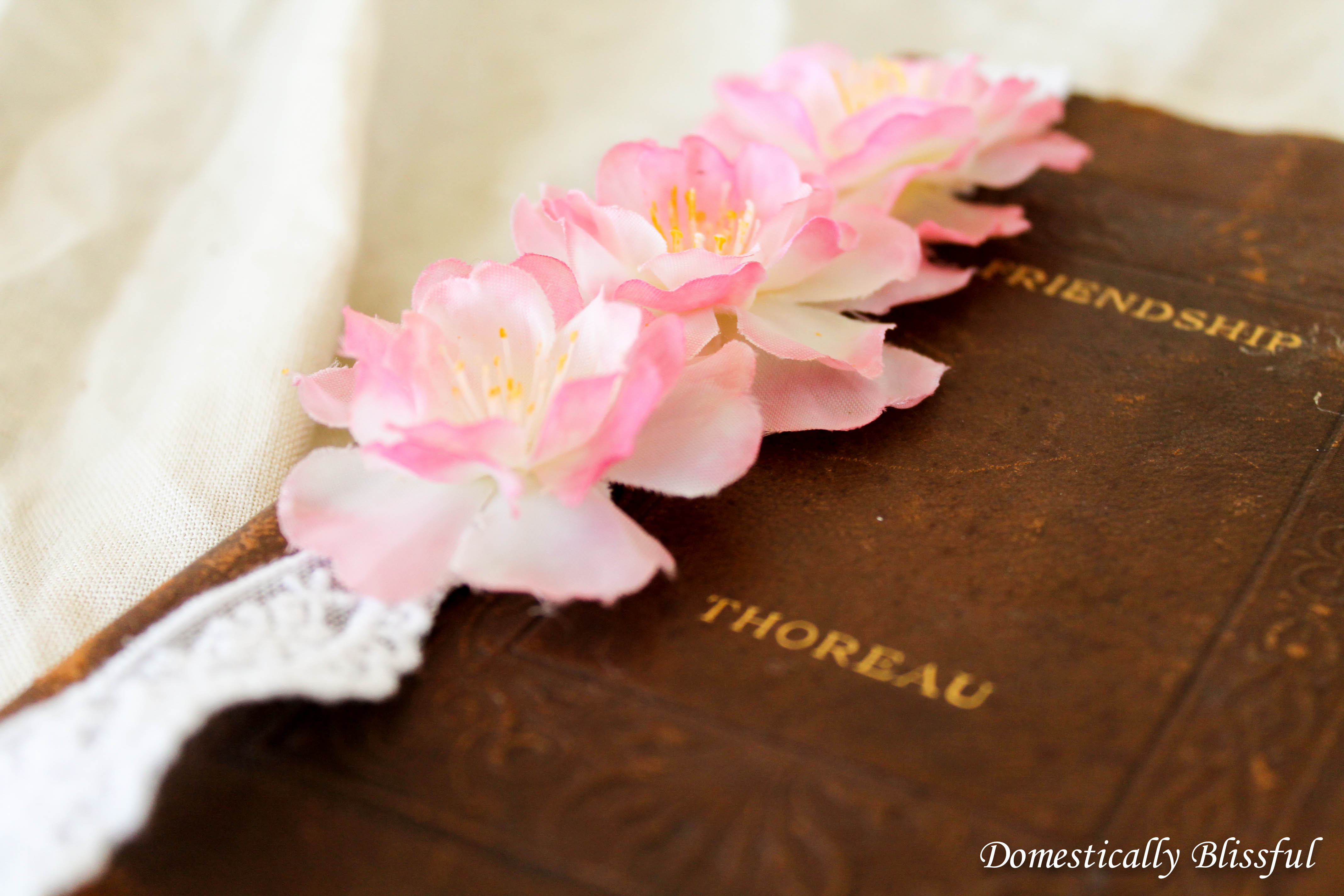 Cherry Blossom Bookmarks