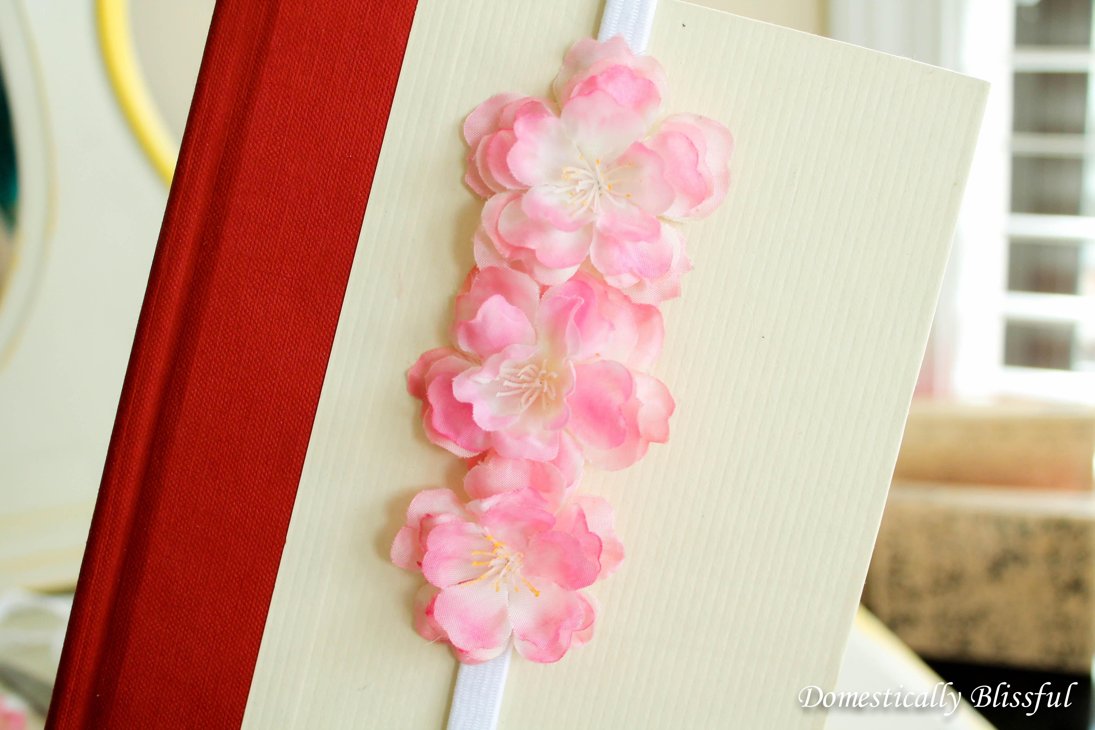 Cherry Blossom Handband Bookmark