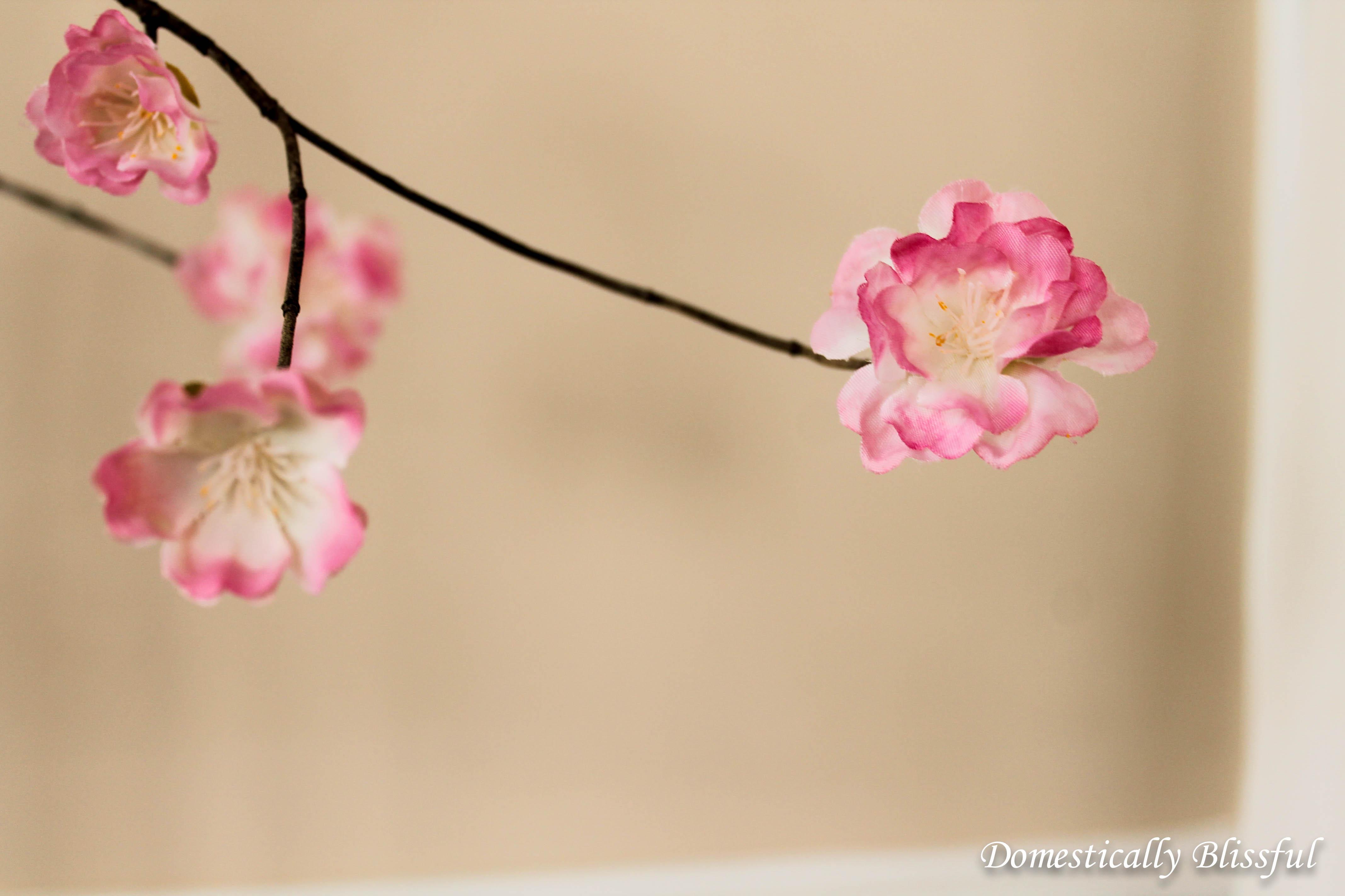 DIY Stemmed Flowers