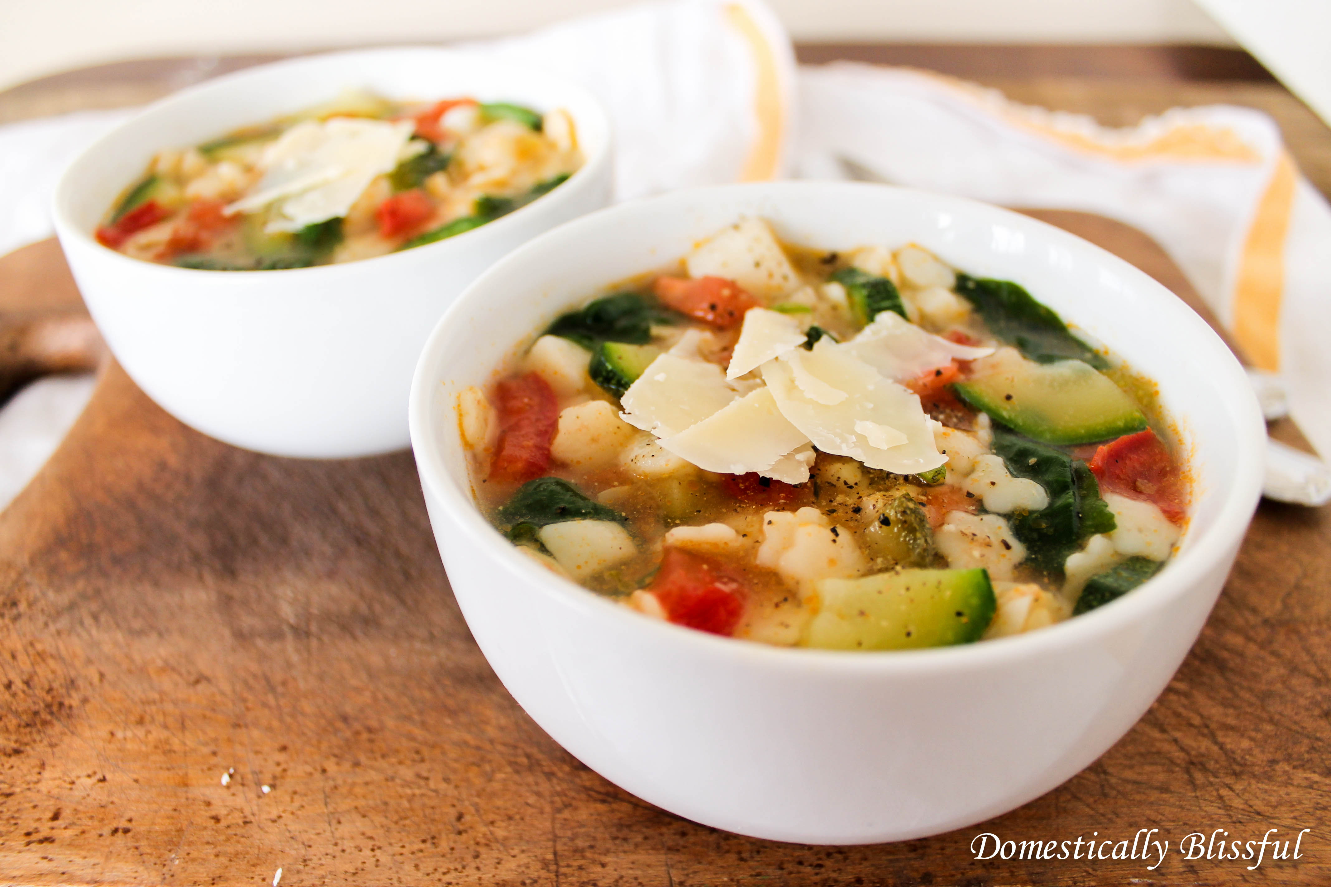 Simple Vegetable Soup