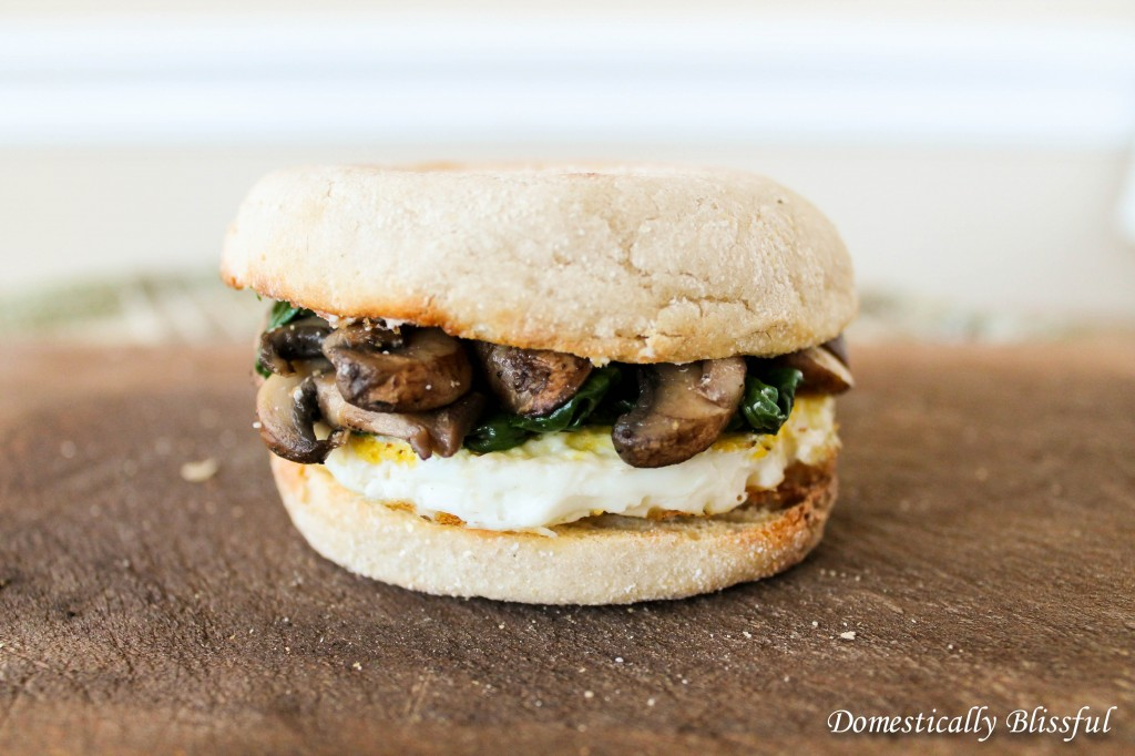 Goat Cheese Breakfast Sandwich