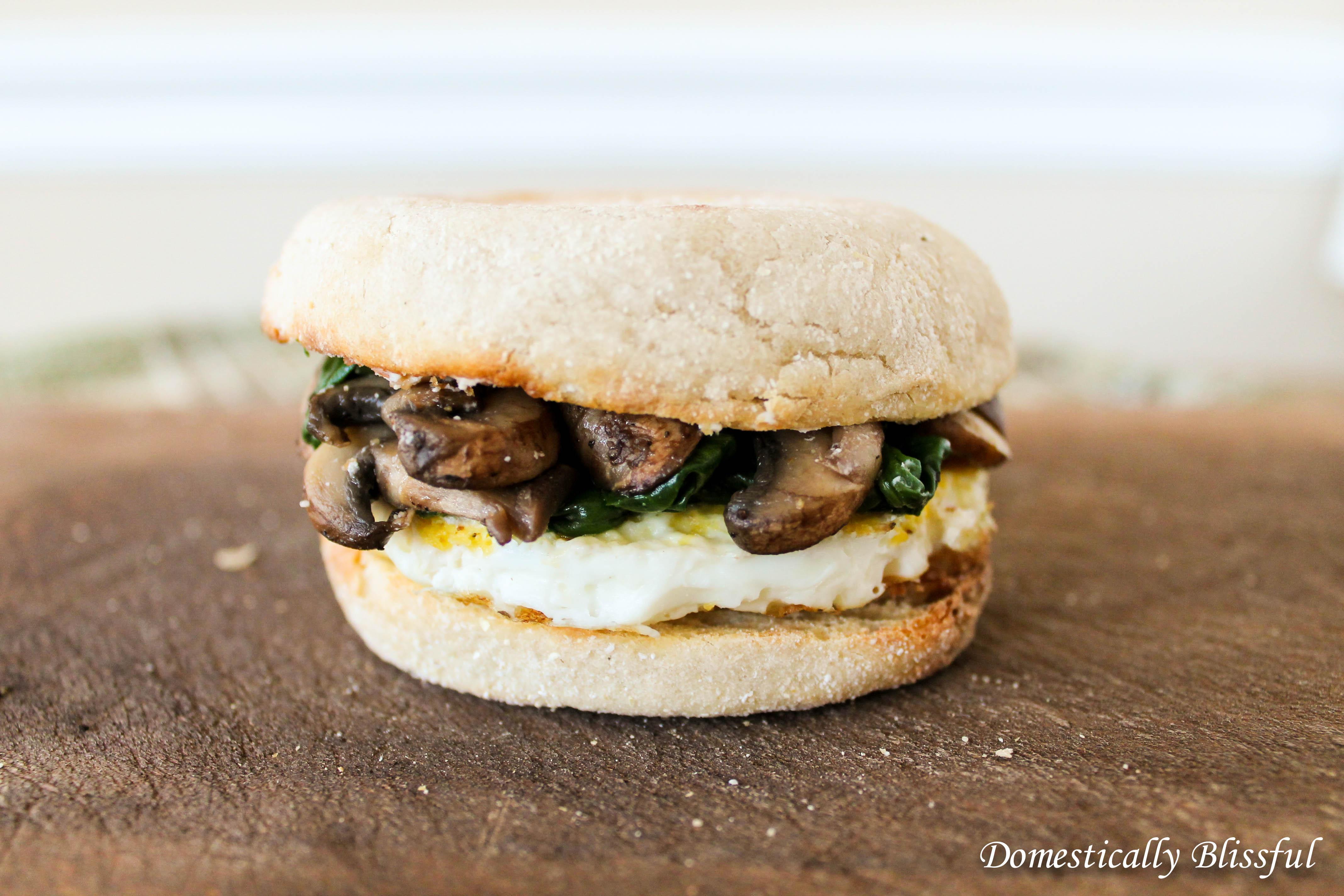 Goat Cheese Breakfast Sandwich