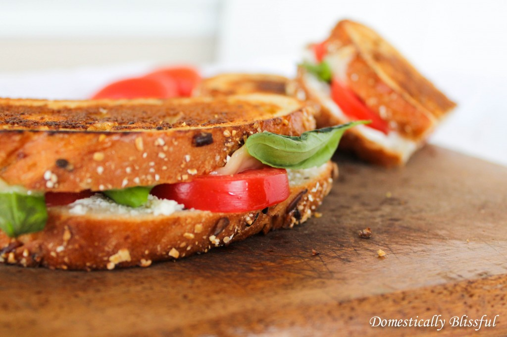Goat Cheese Grilled Cheese