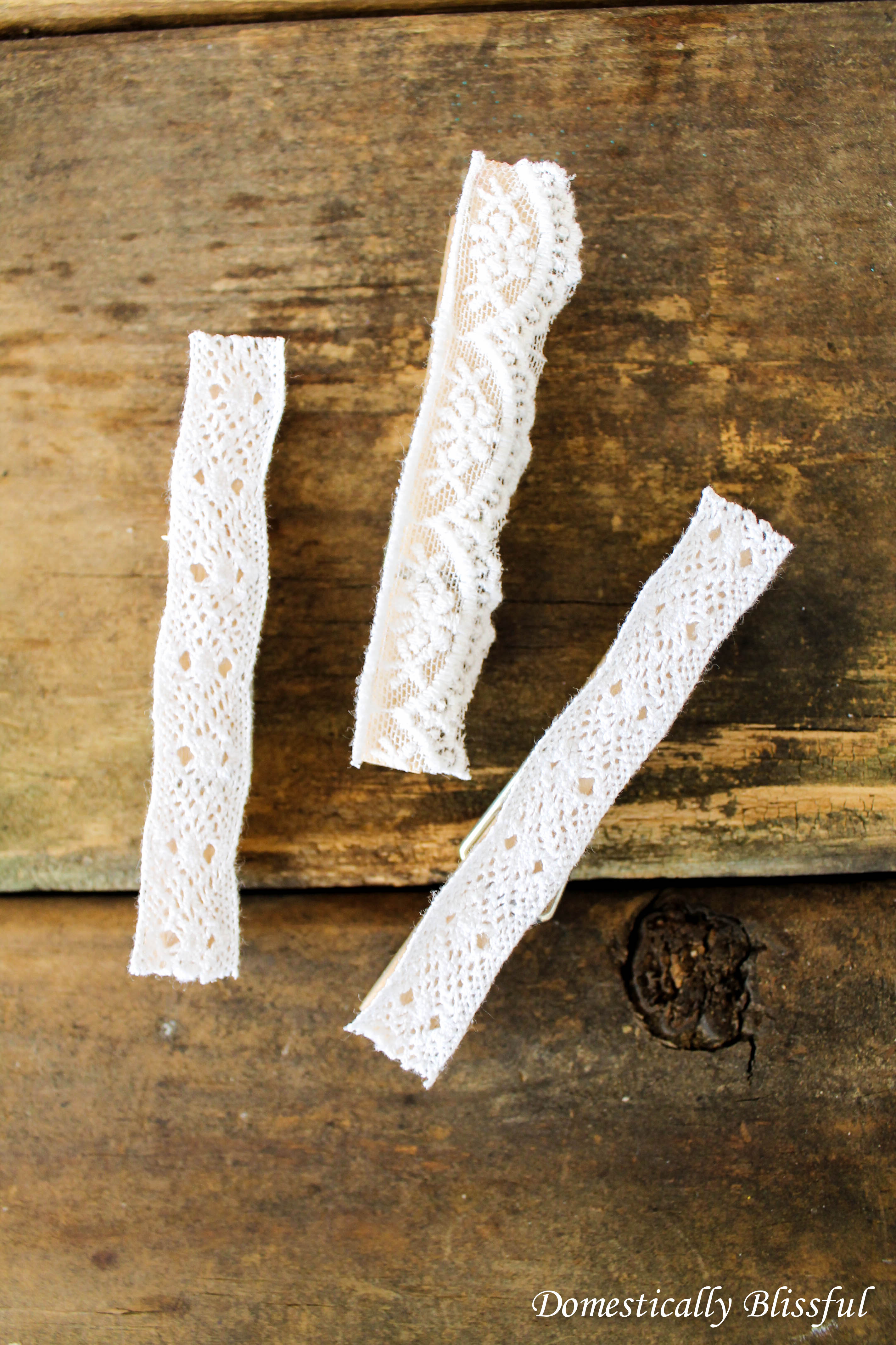 Lacy Decorative Clothespins