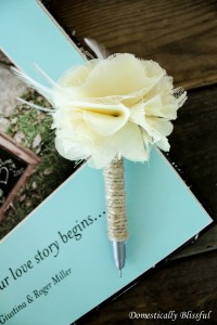 DIY Pen for your Guest Book