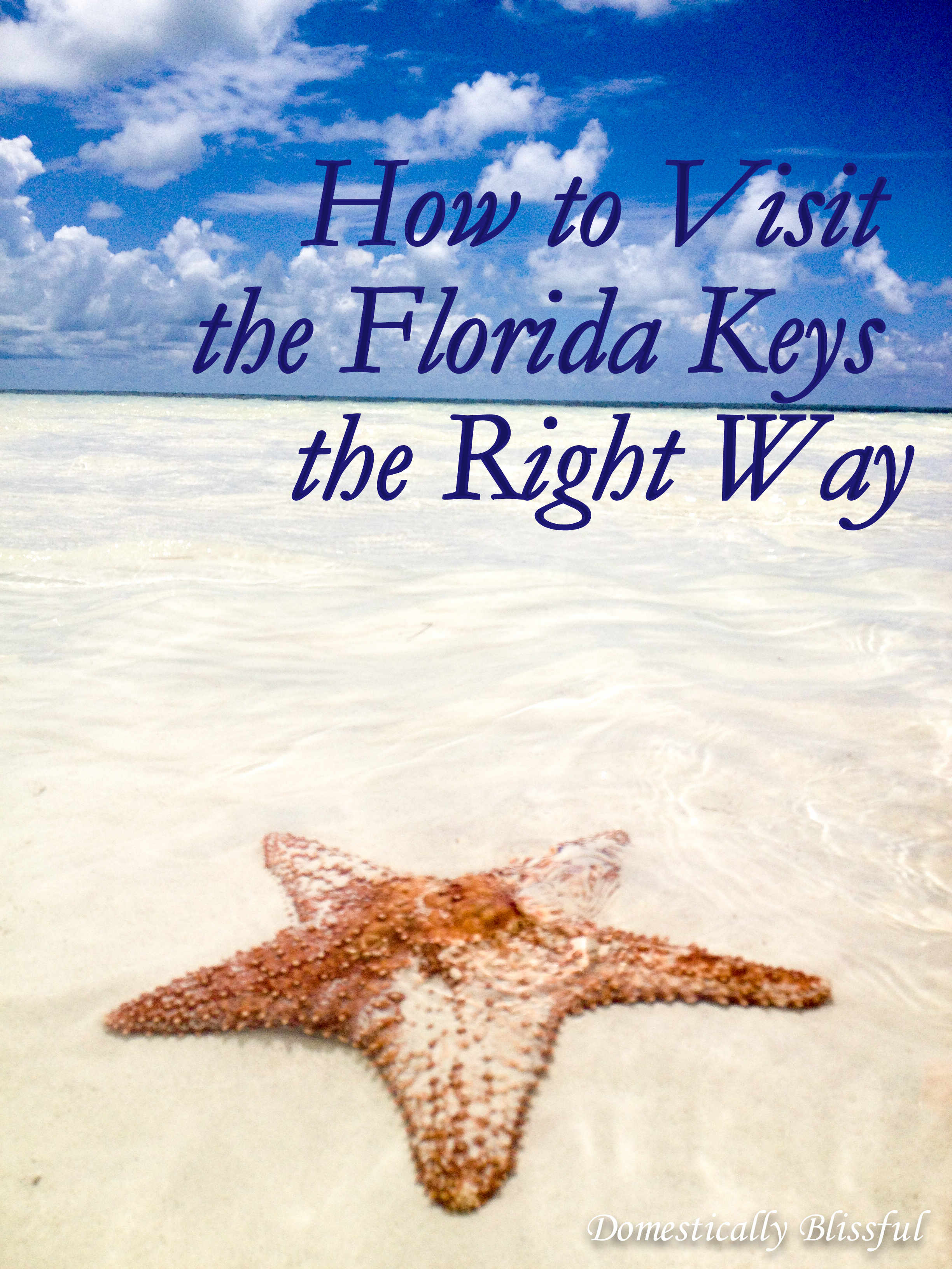 How to Visit the Florida Keys the Right Way