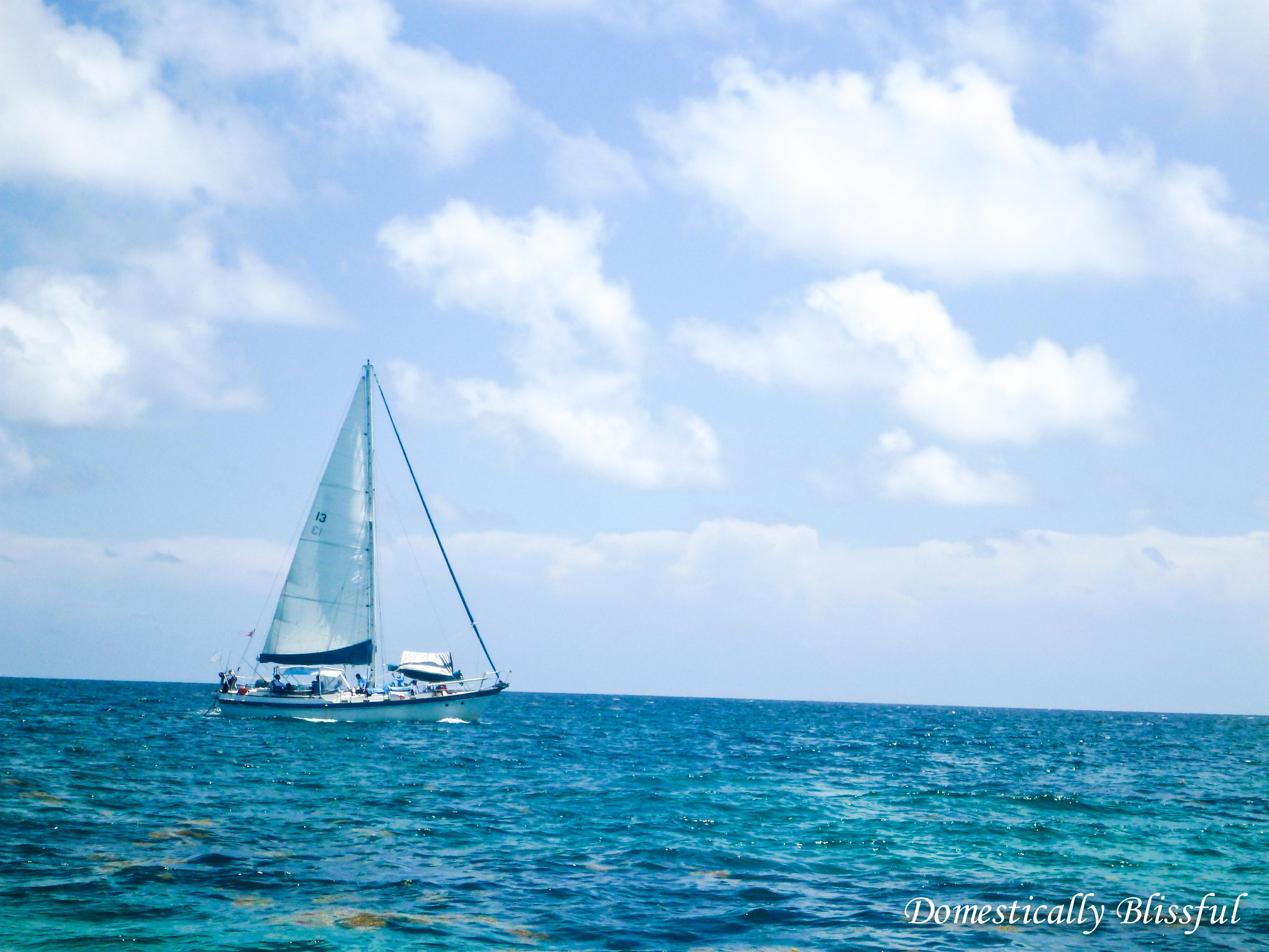 Sail Boat in the Keys