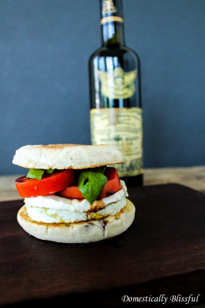 Caprese Breakfast Sandwich