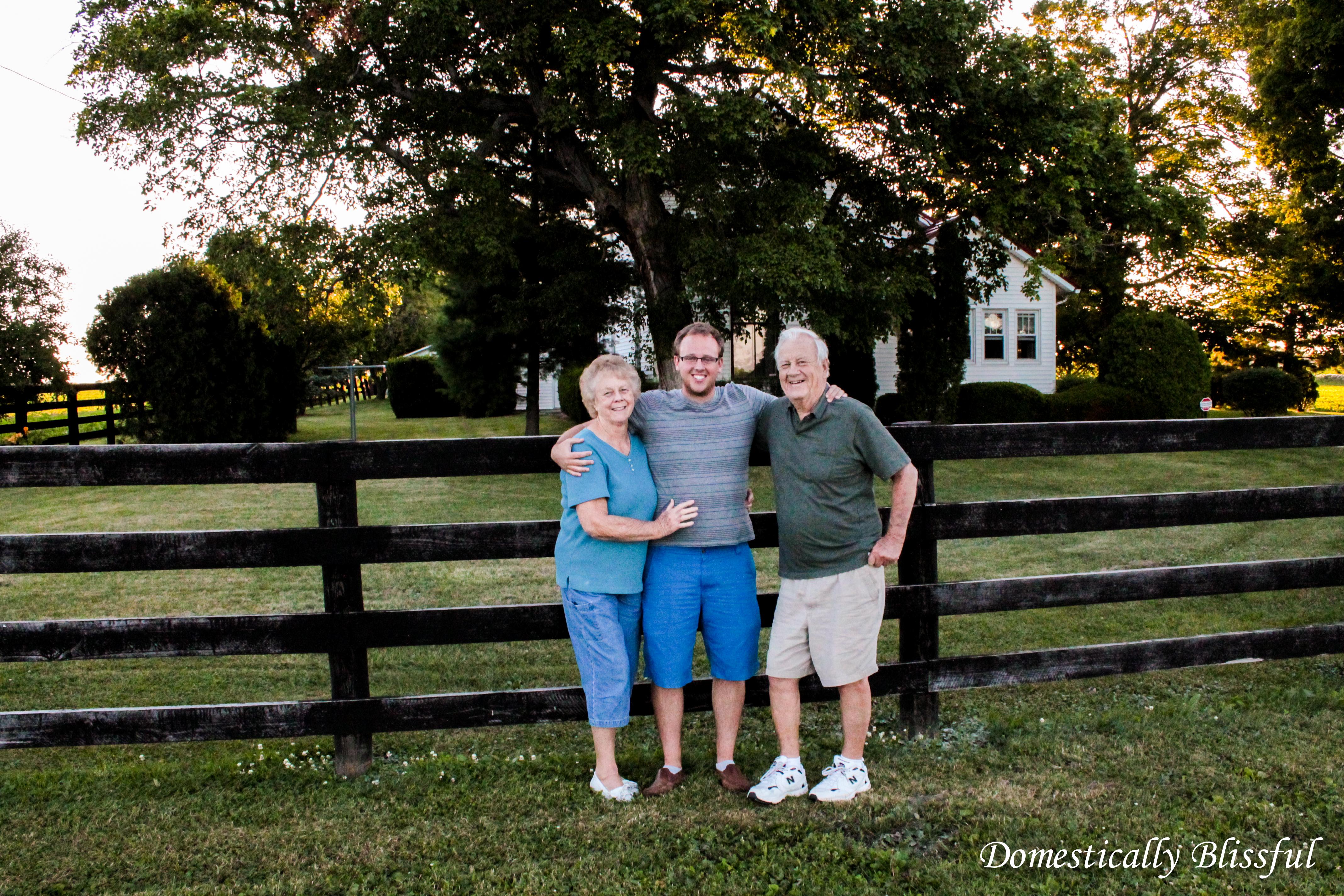 Grandparents Farm in Ohio