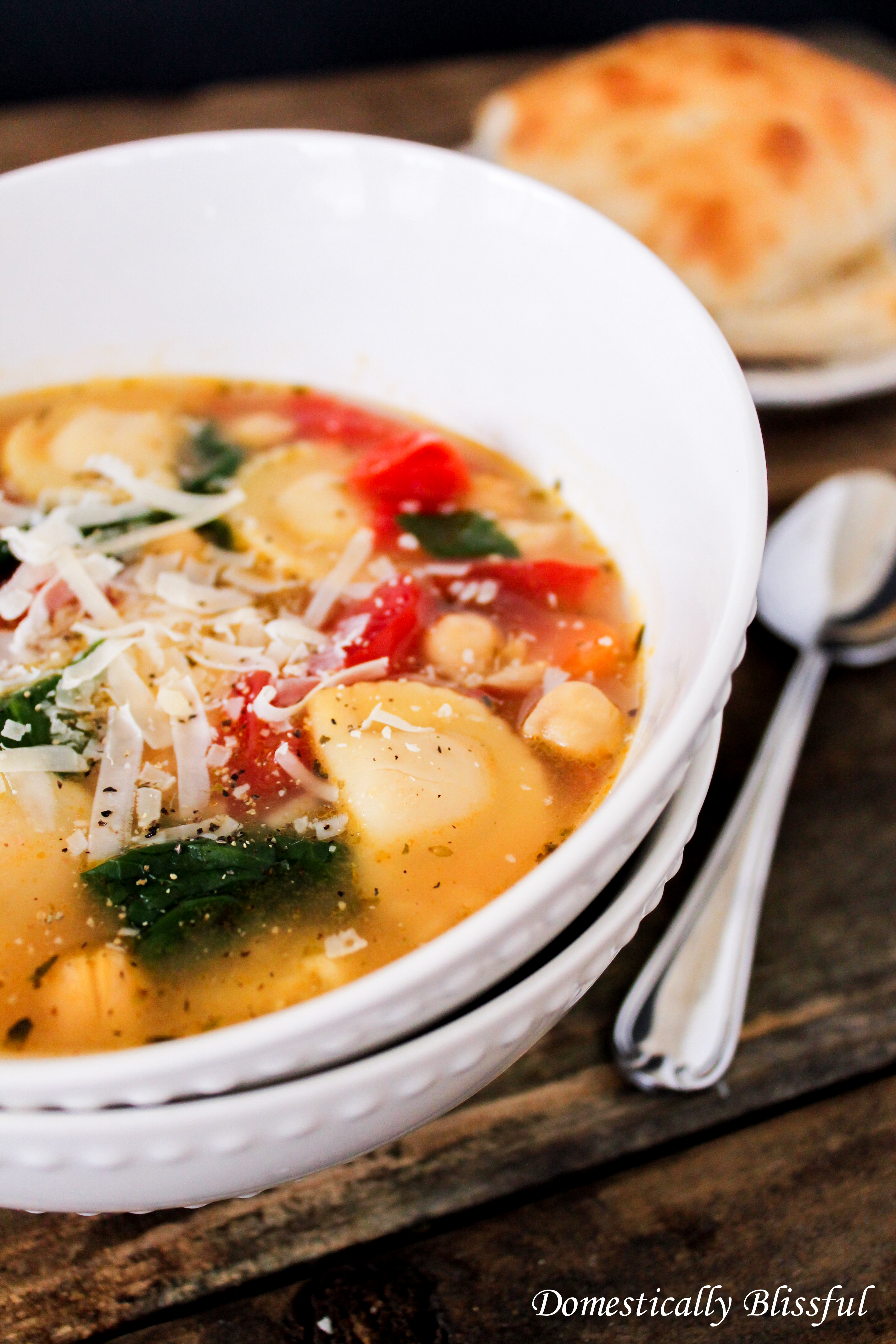 Mezzaluna Garden Soup