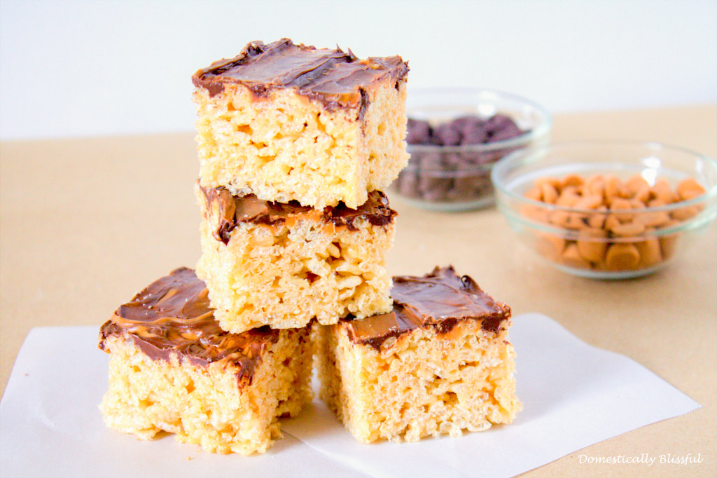 Fall Rice Krispies Treat