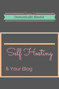 Self Hosting & Your Blog