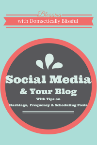 Social Media and Your Blog