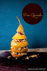 Breakfast Pear Granola Treat