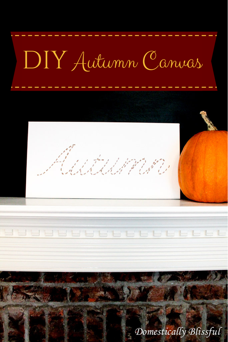 DIY Autumn Canvas-3