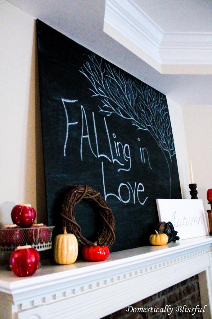 DIY Extra Large Chalkboard