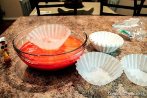 Dye Coffee Filters Orange