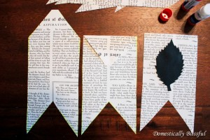 Fold and Glue Fall Banner