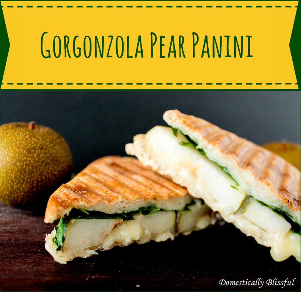 Gorgonzola Pear Panini1